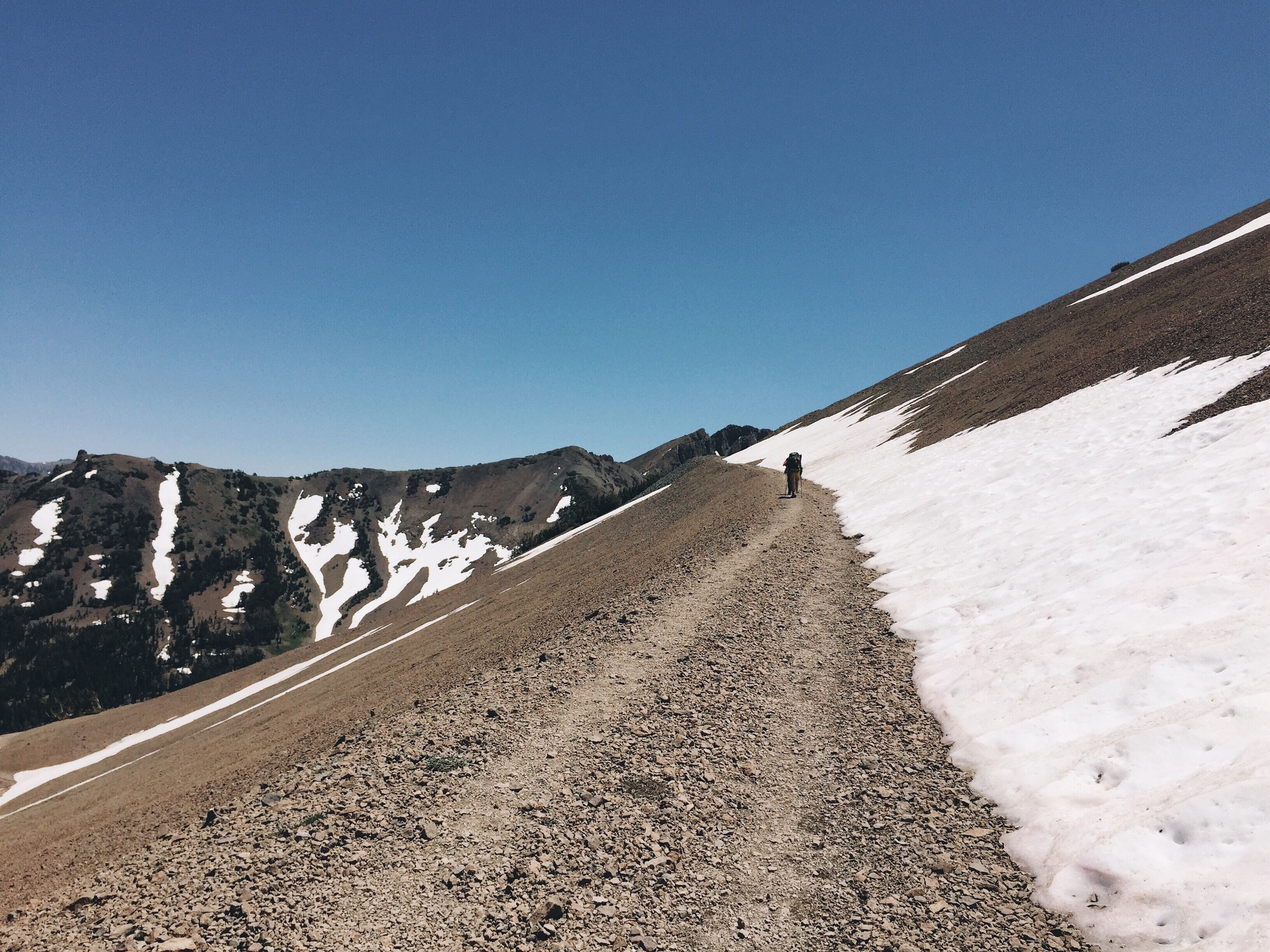 Going up Sonora pass.