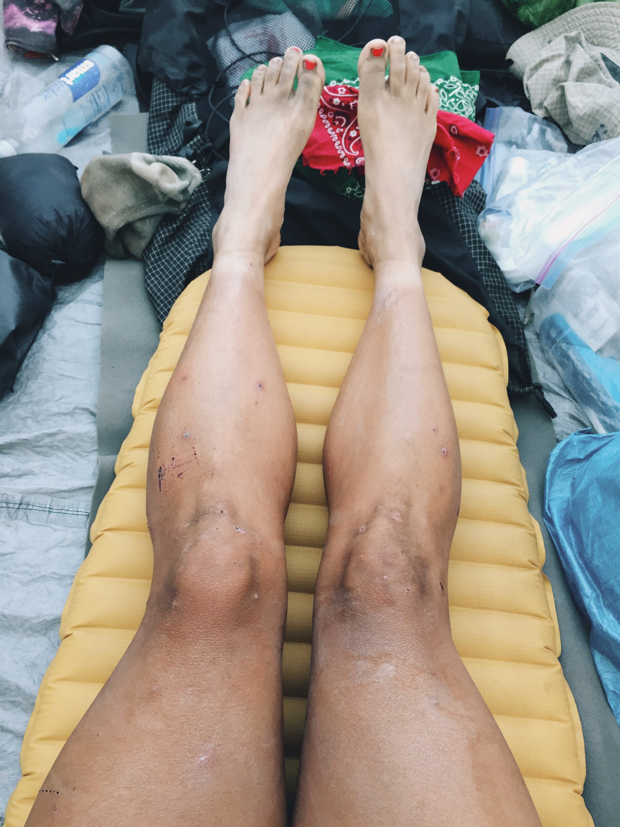 Legs looking so tore up these days.