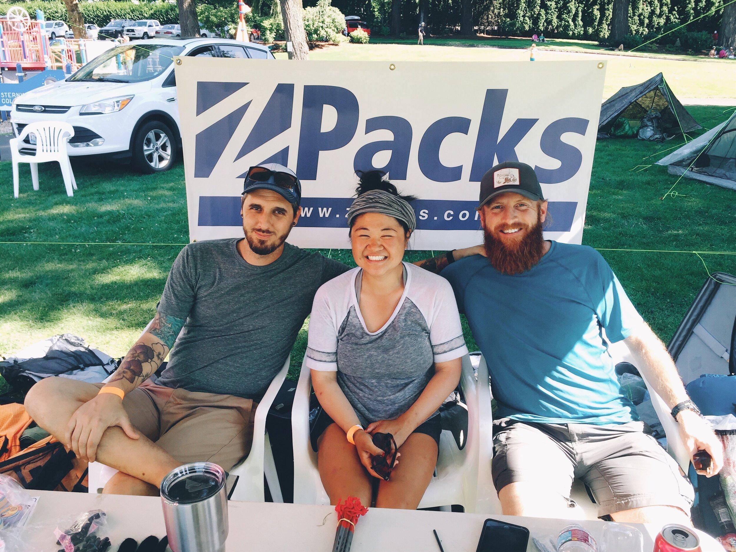 Matt and will from Zpacks.