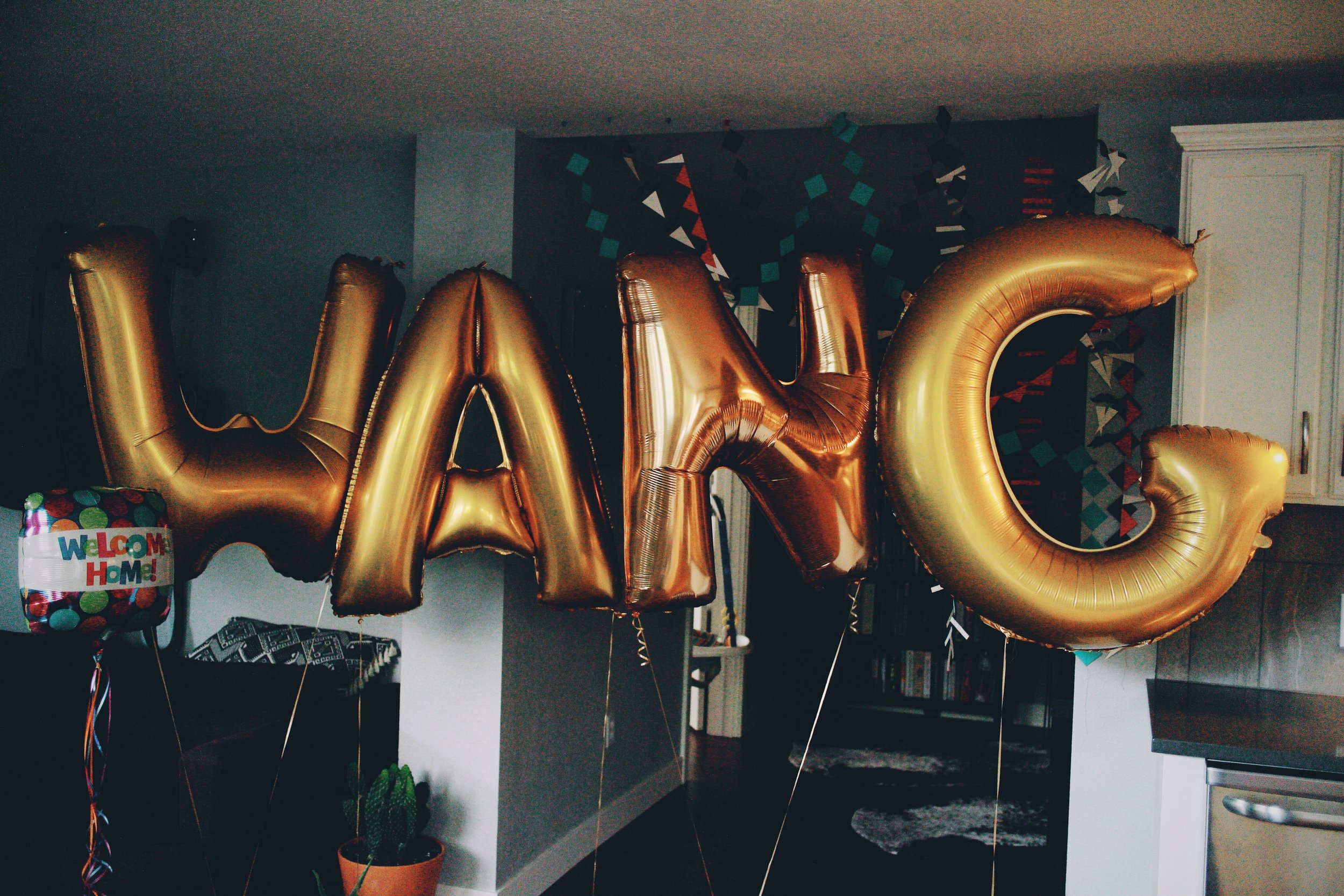 My Wang balloons. 😹