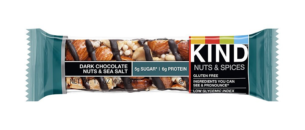 LOVE kind bars!! They're kinda expensive bc you have to buy them individually, but the flavors and texture are great. And one of the few bars with good fat calories.