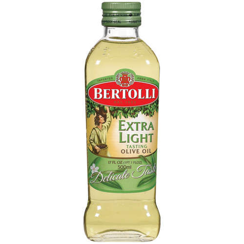 I didn't do lots of olive oil but I like the light tasting one so it doesn't overpower the flavor of my meals. It was also annoying finding someone to share the bottle with bc you didn't want to waste money and buy the huge bottle, so I rarely got it.