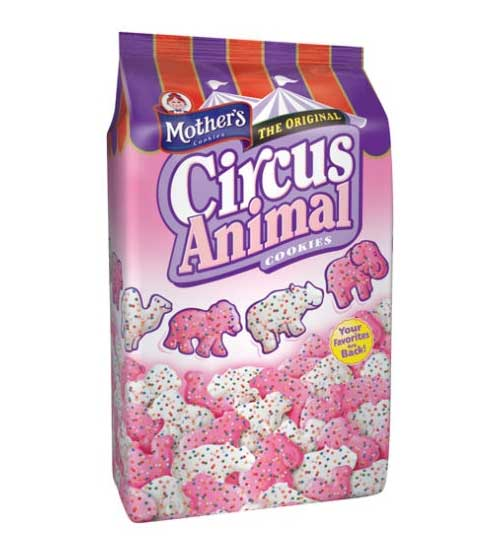 Animal crackers! My other fav. Would munch on a few throughout the day.