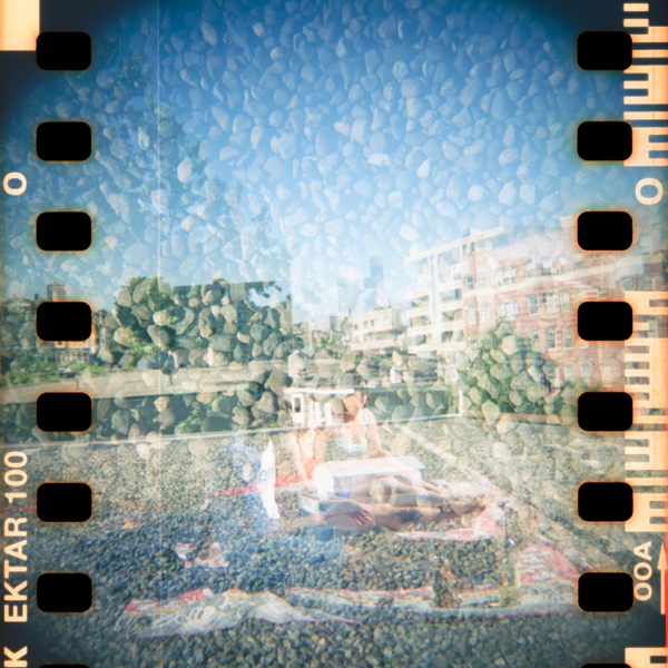 Can't forget about those double exposures and shooting over the sprocket holes
