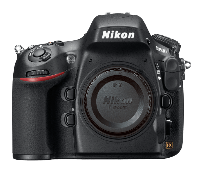 Nikon D800 body, I think it's discontinued but they have a new  D810  now. Basic full frame, I only chose Nikon because I have been used to it for so many years and understand their system.