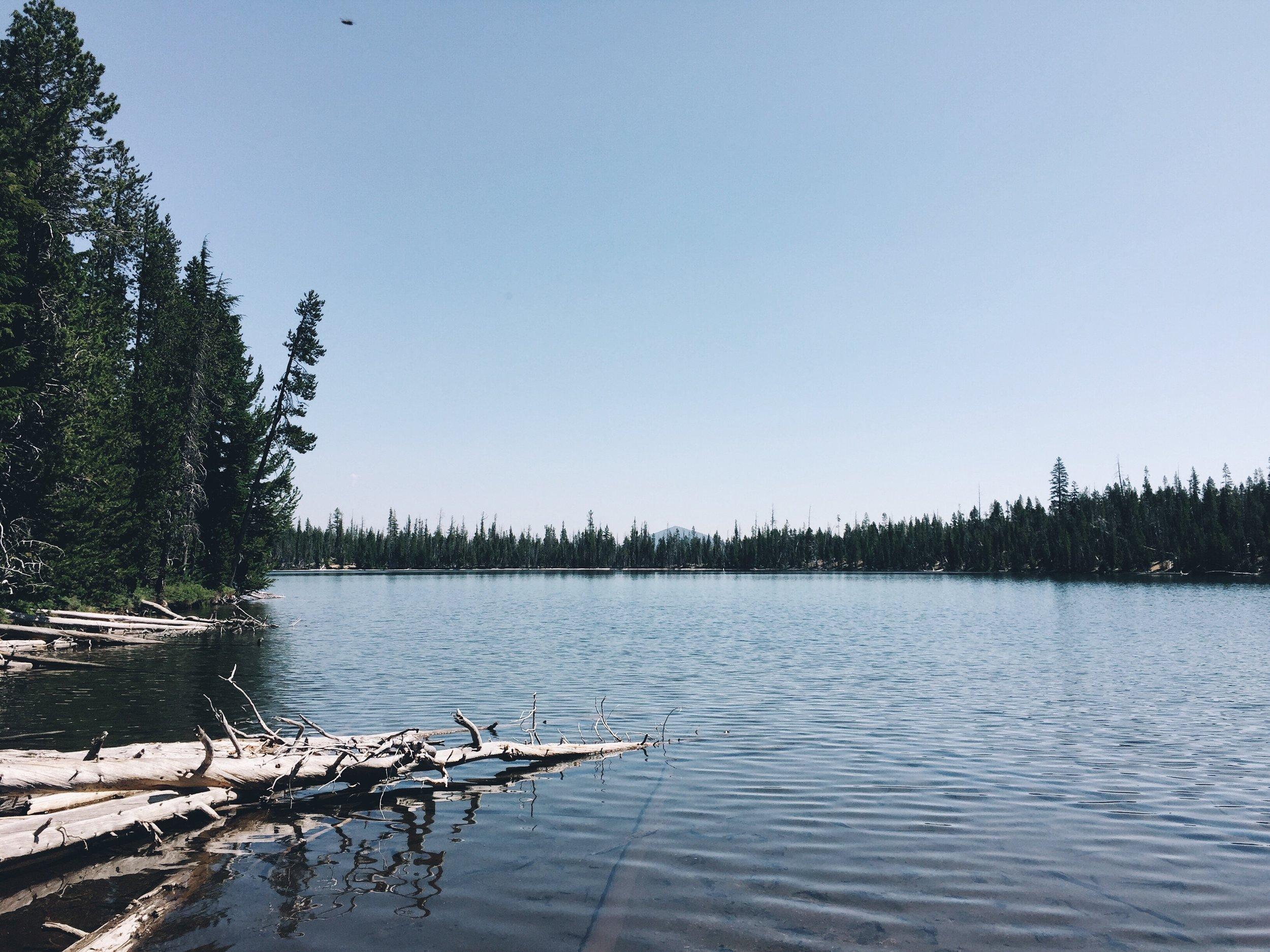 A lake where I got water.