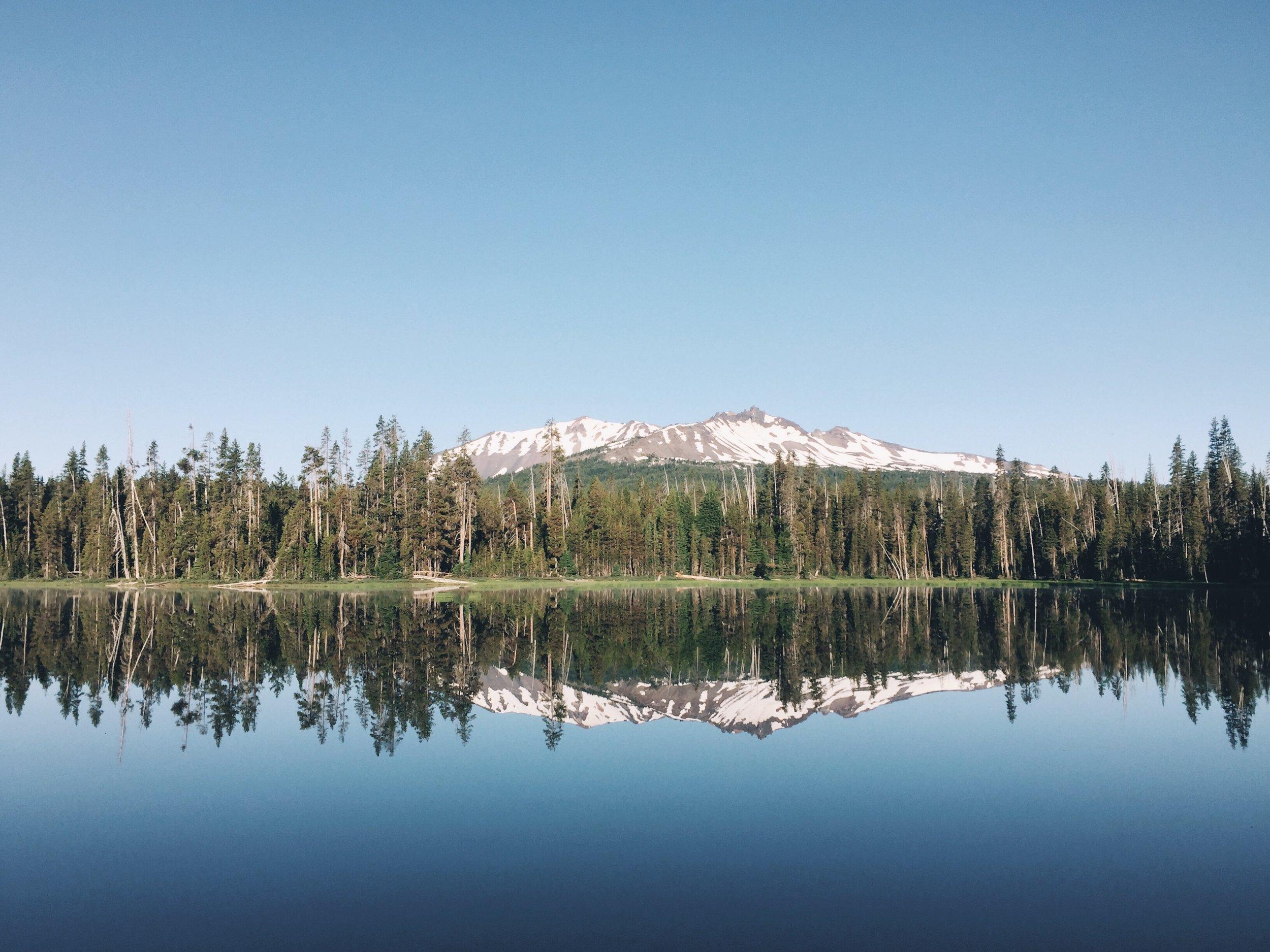 diamond view lake in the morn