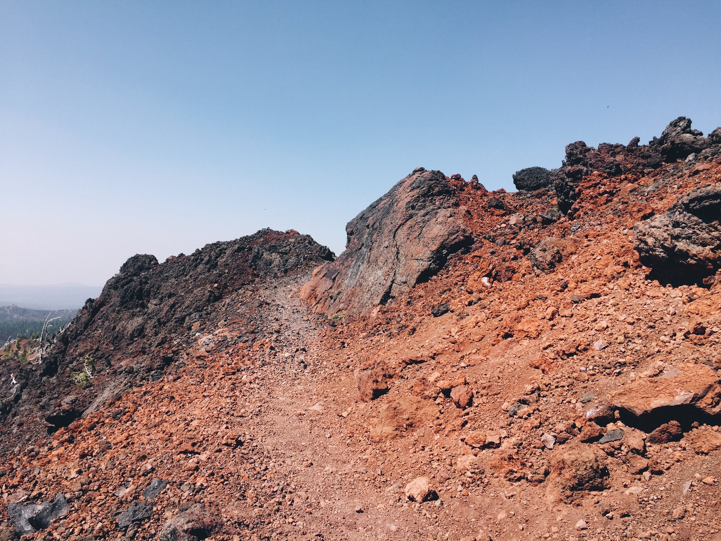 Up the lava pass
