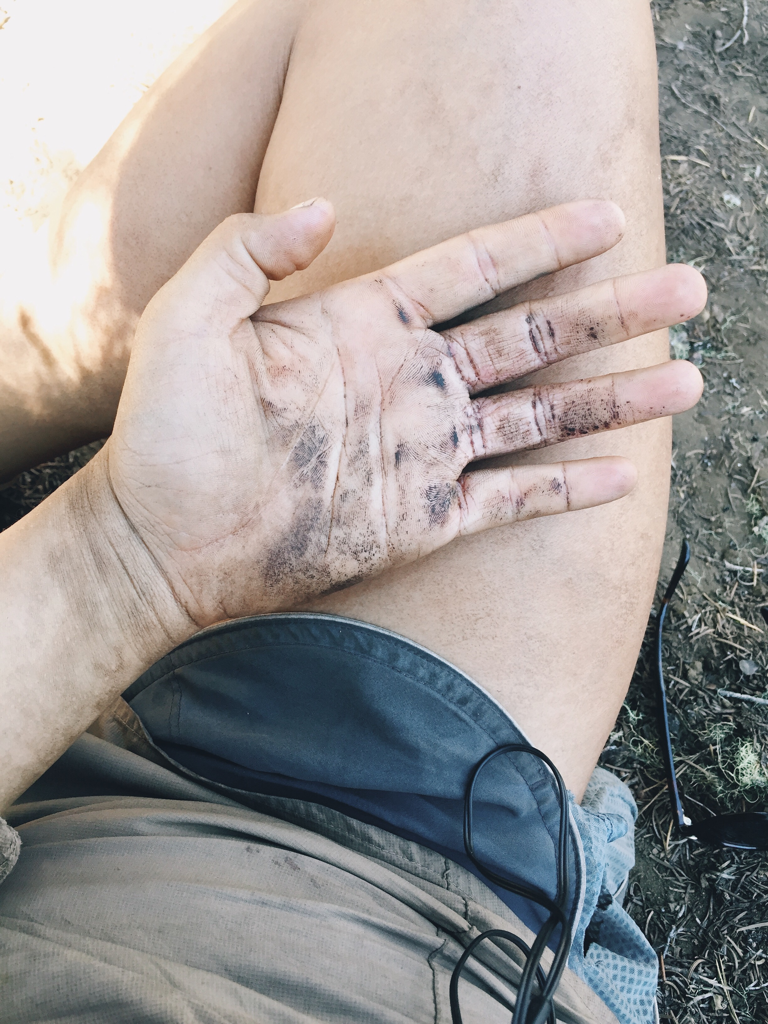 so dirty. Four miles to civilization.