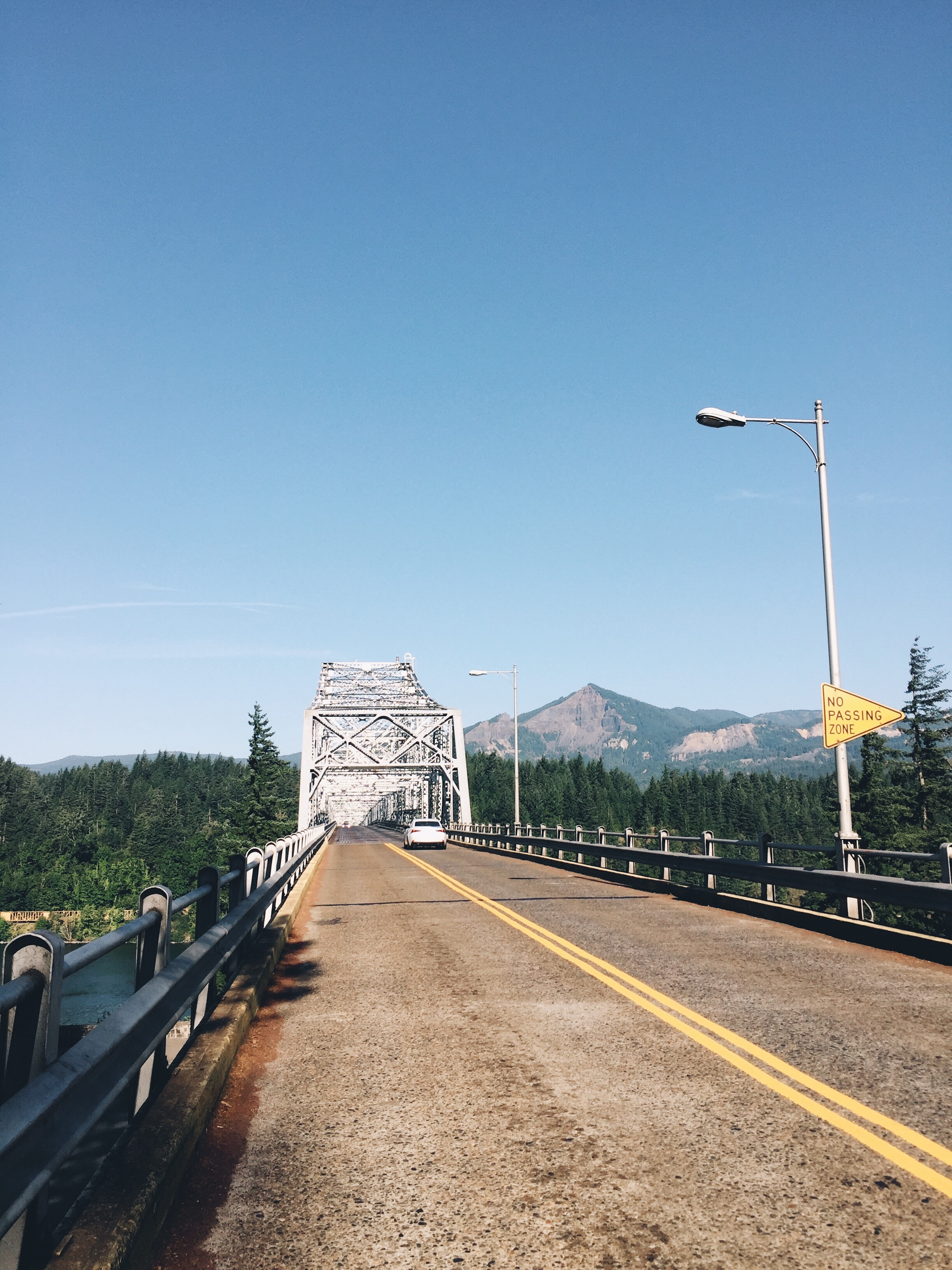final walk across the bridge for the third time