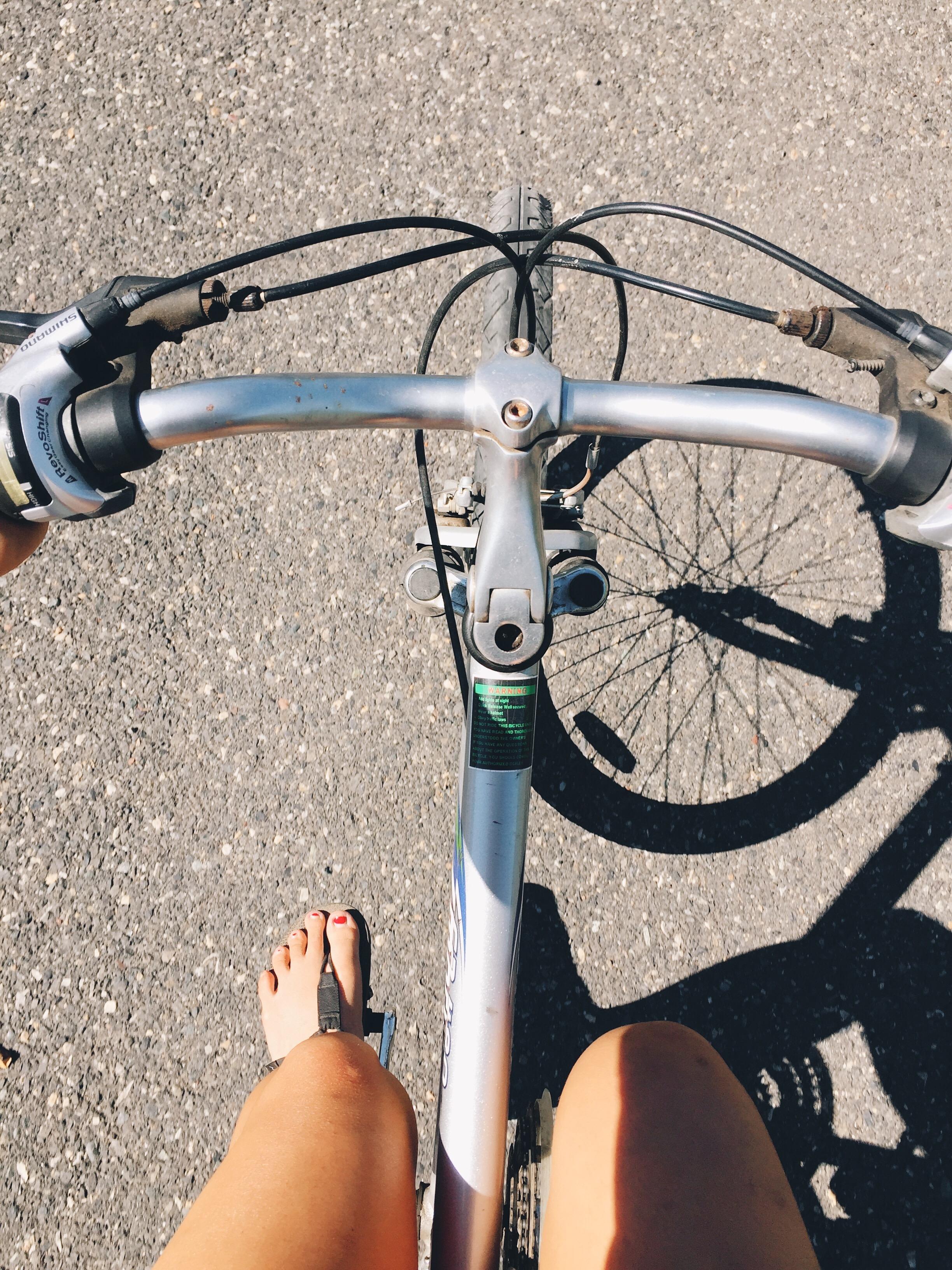 My bike into town