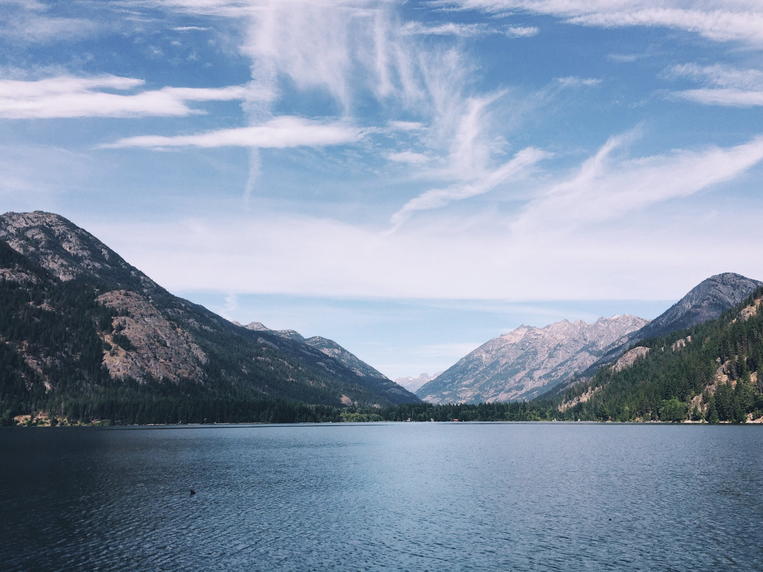 Stehekin. So peaceful.