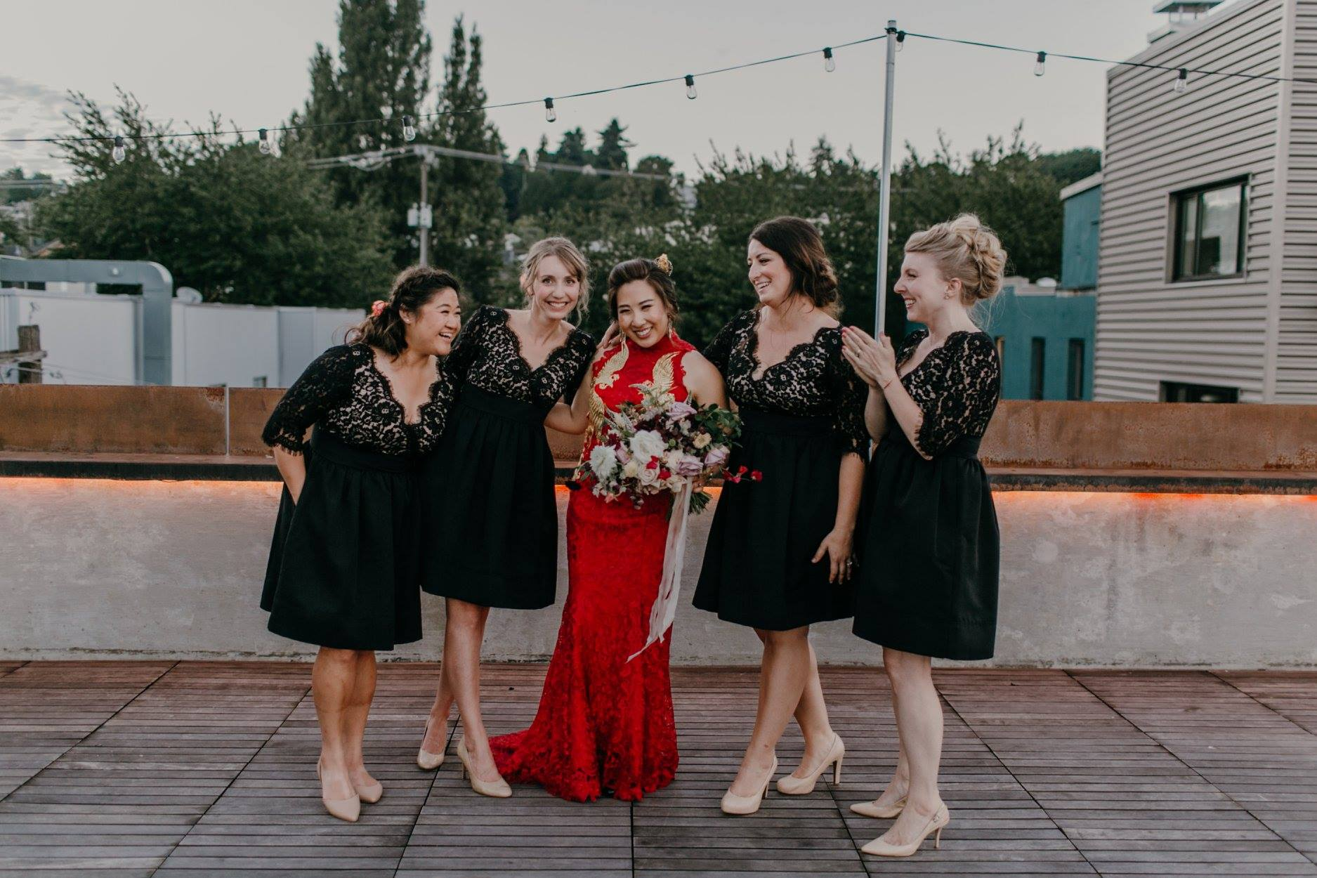 Such a fun time planning so many things w these ladies. Also, so many bad tan lines on my part. :| Photo by Jess Hunter.