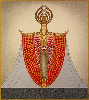 "Erte Serigraph ""Indochina"""