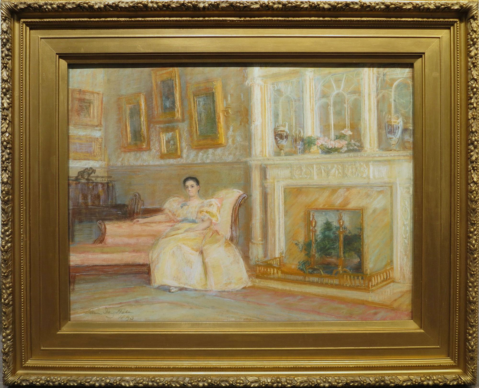 """Mrs. Davenport"" Ellen Day Hale 1893"