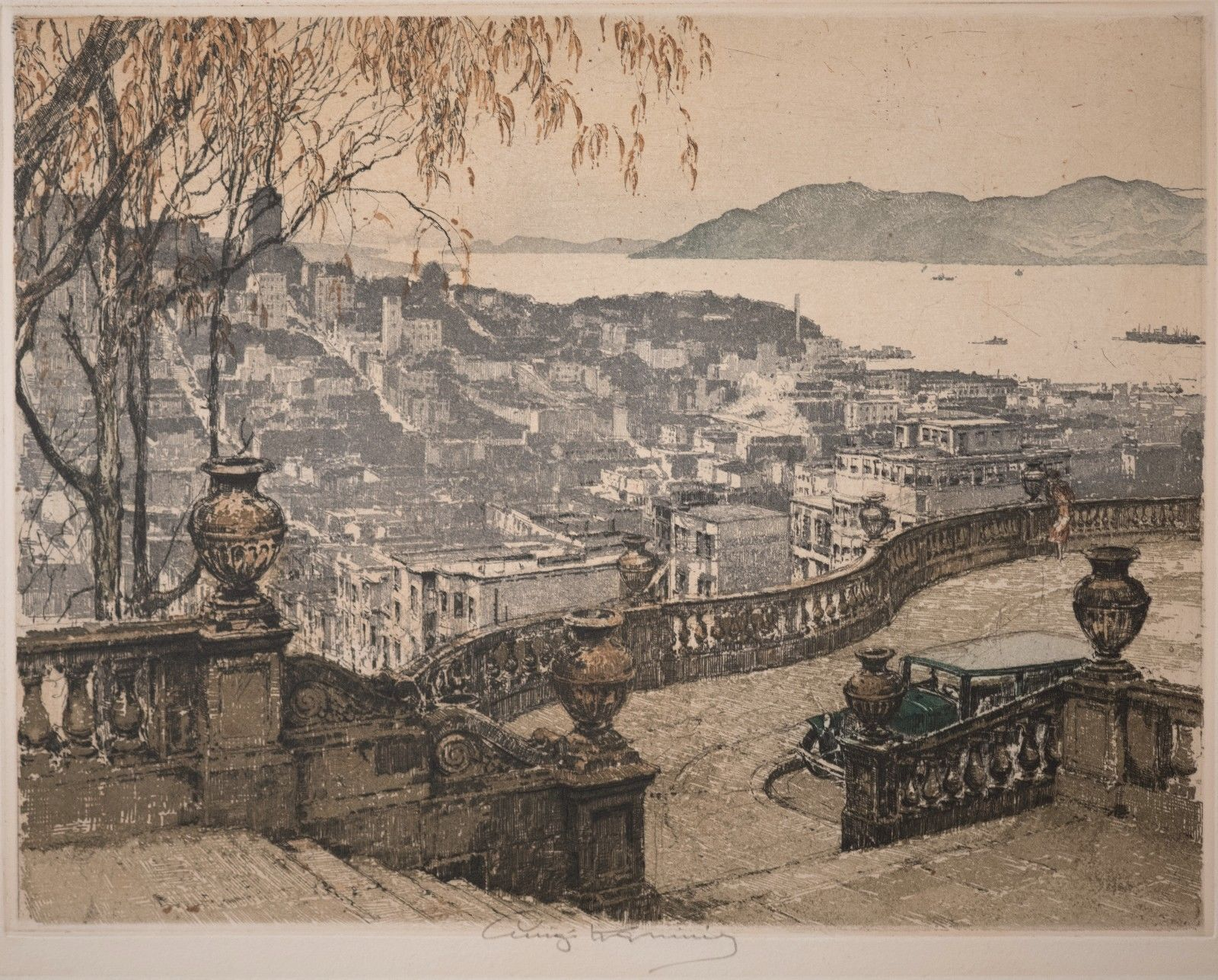 View the Luigi Kasimir Reference Pages! - Fine Early 20th Century American Etchings from New York to the great West!HOW TO TELL AN ORIGINAL WORK?
