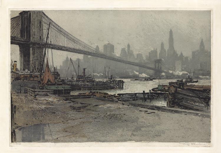 """Luigi Kasimir """"Brooklyn Bridge"""" (1-5)"""