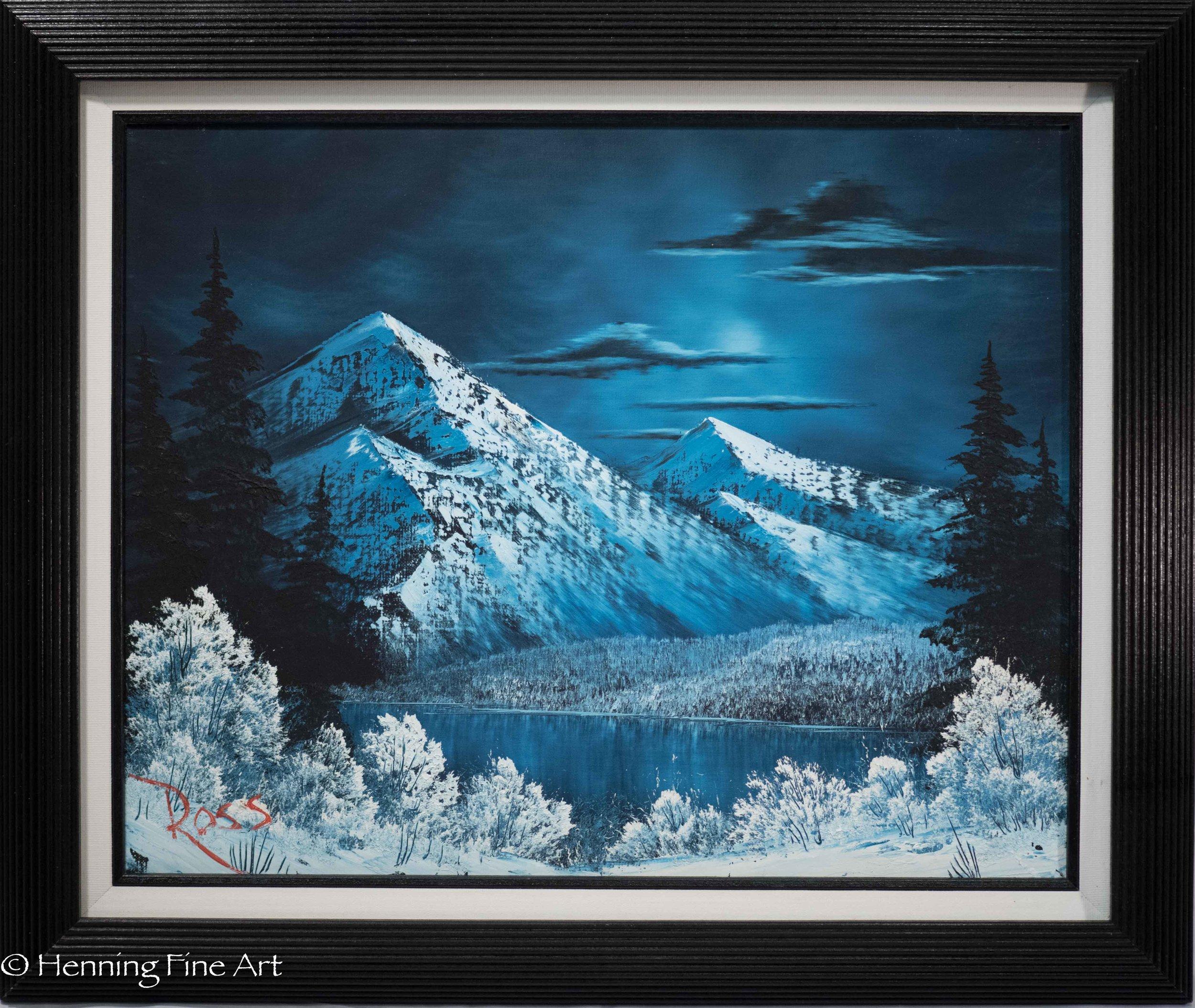 """Bob Ross """"Arctic Landscape"""""""