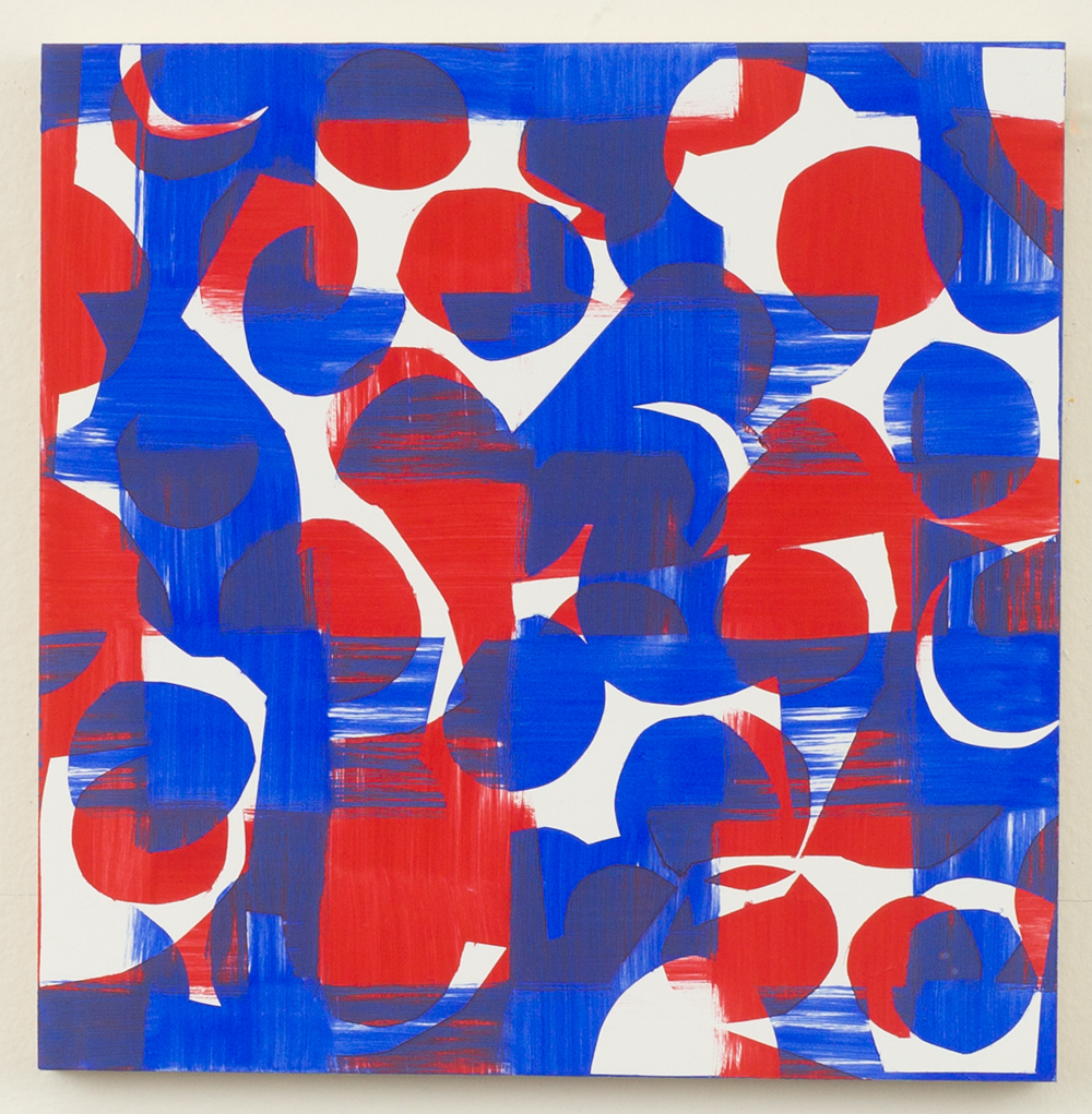 Untitled Red and Blue