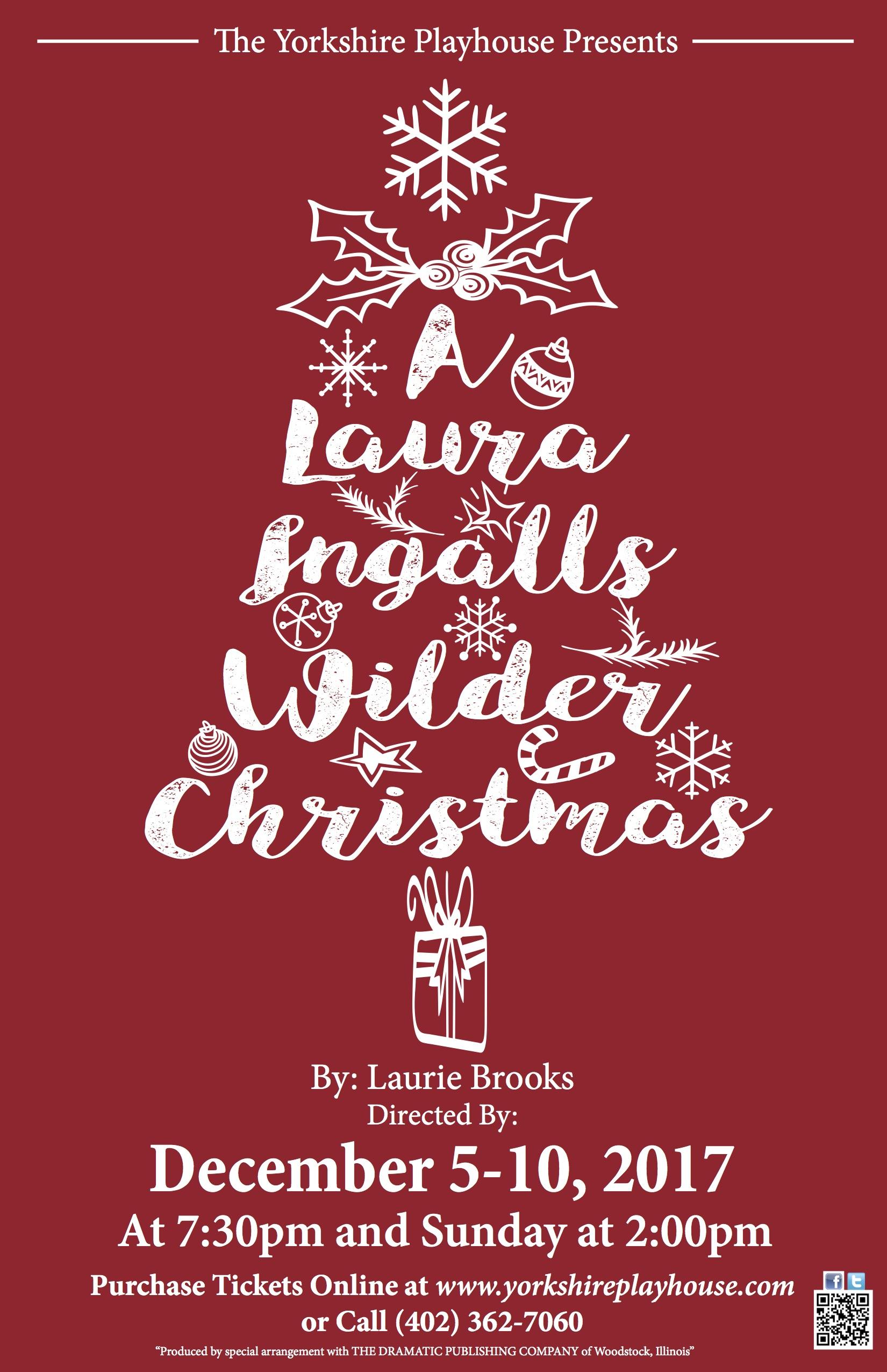 Laura Ingalls Wilder Xmas -Poster - JPEG.jpg