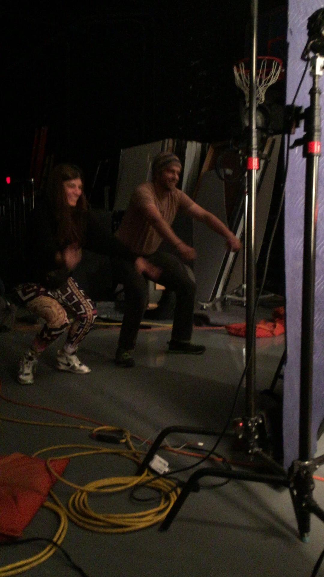 Power squats... Hour 11-12ish