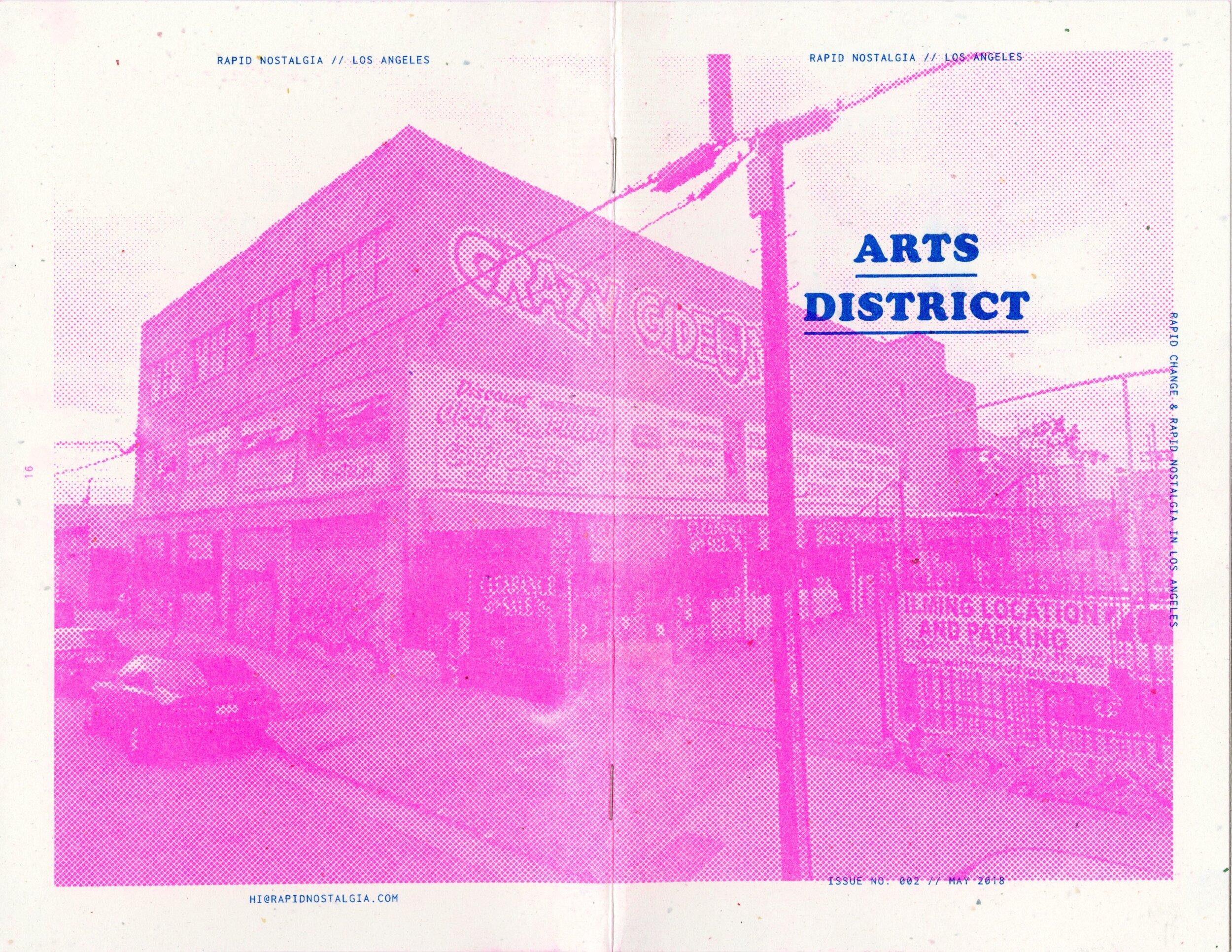 Coming Soon:Arts District - Rapid Nostalgia No. 002