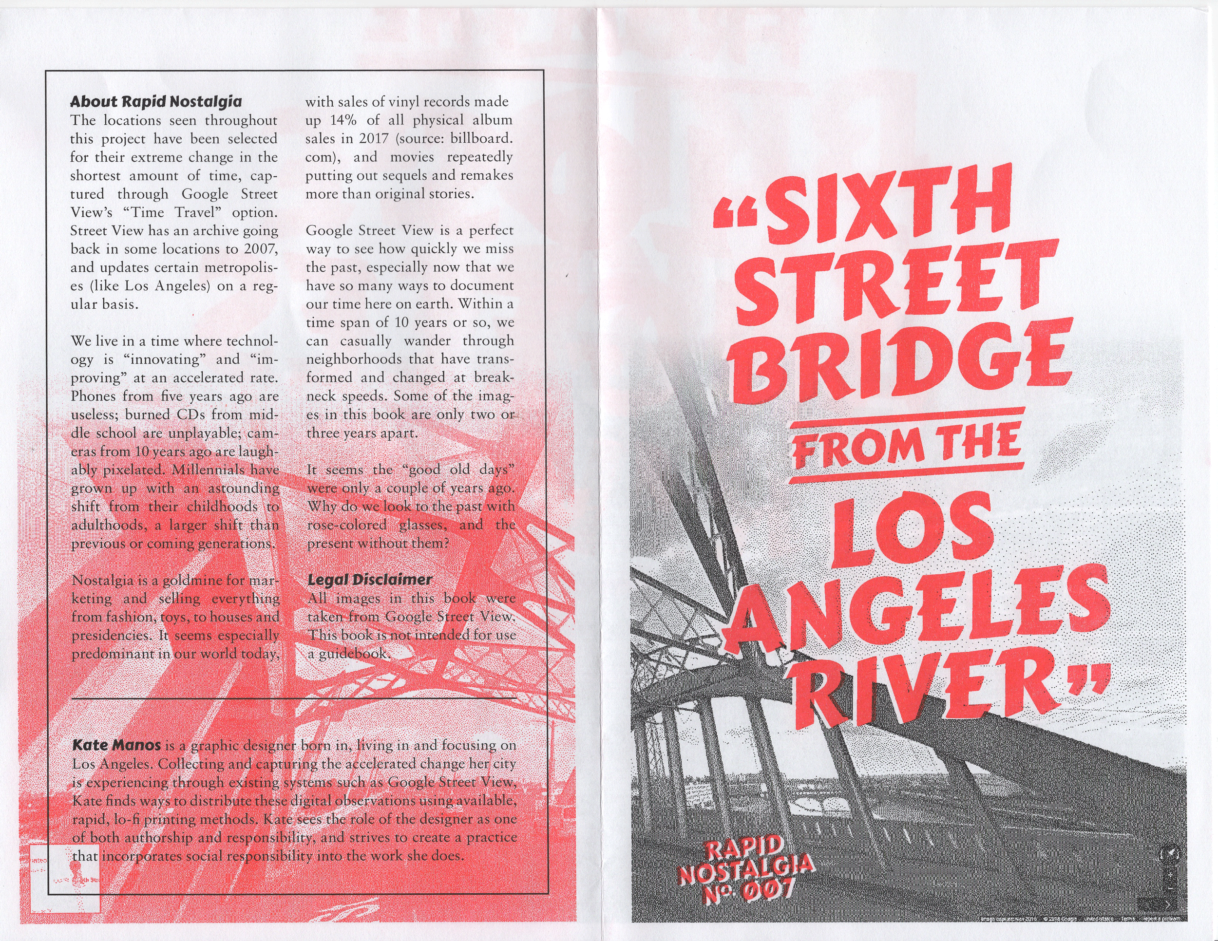 Coming Soon: Sixth Street Bridge from the Los Angeles River - Rapid Nostalgia No. 007