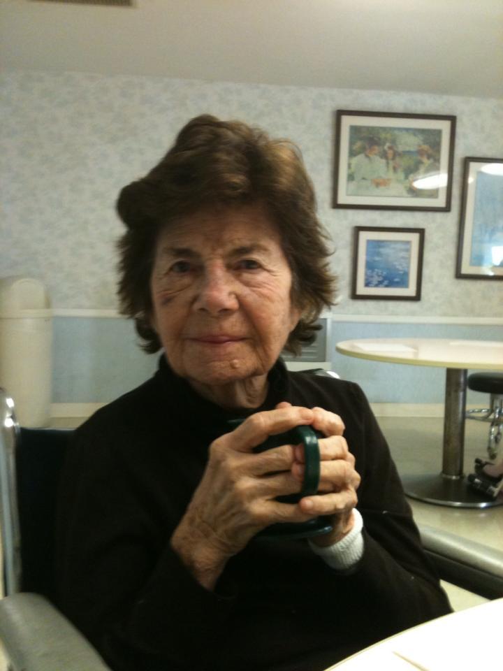 My adorable little abuela