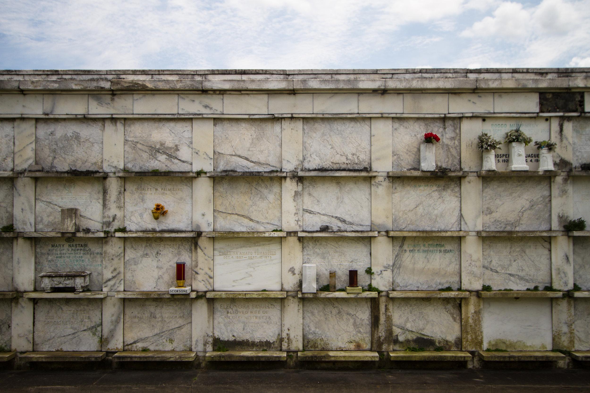 Metairie Cemetery, New Orleans, LA, US
