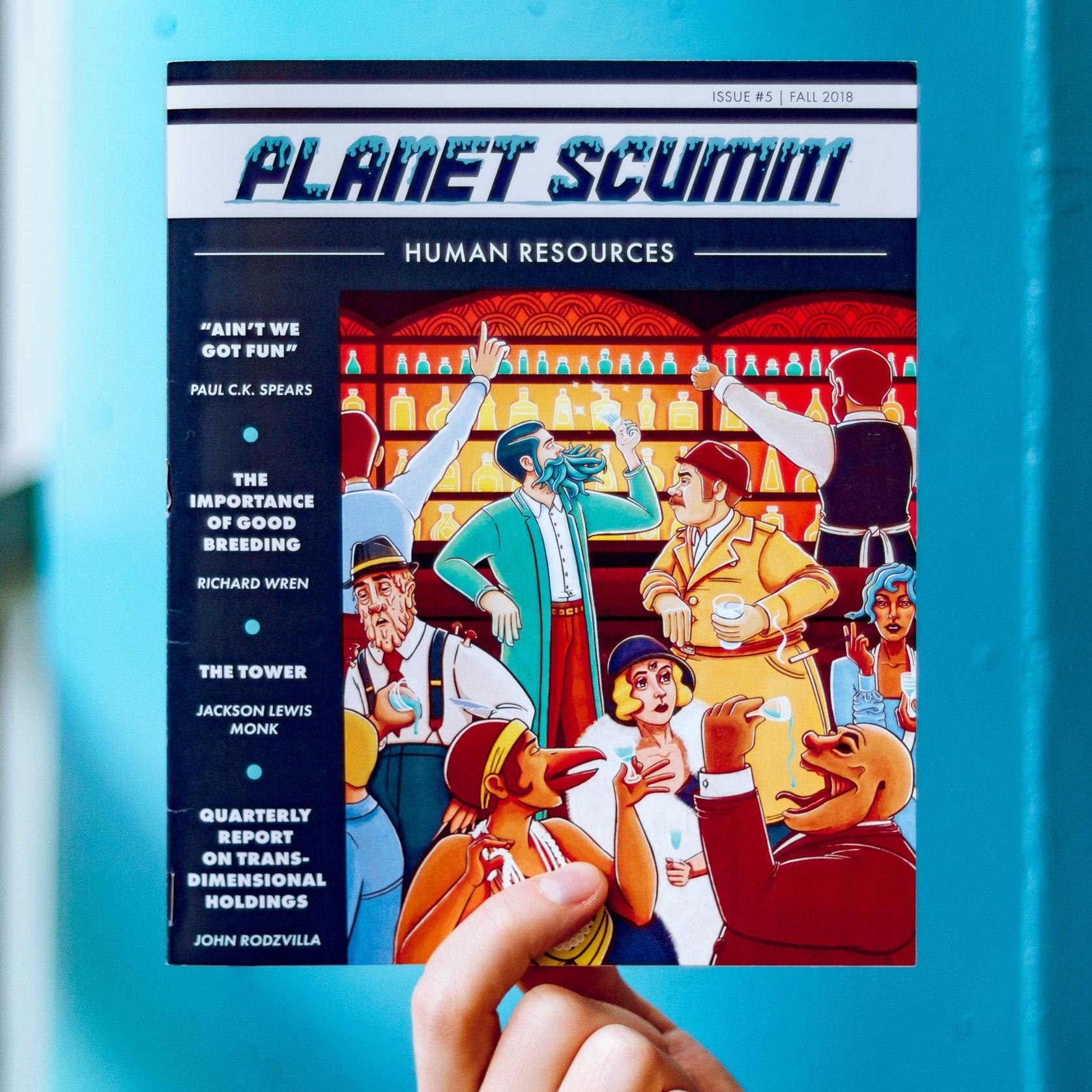Planet Scumm Publication Design