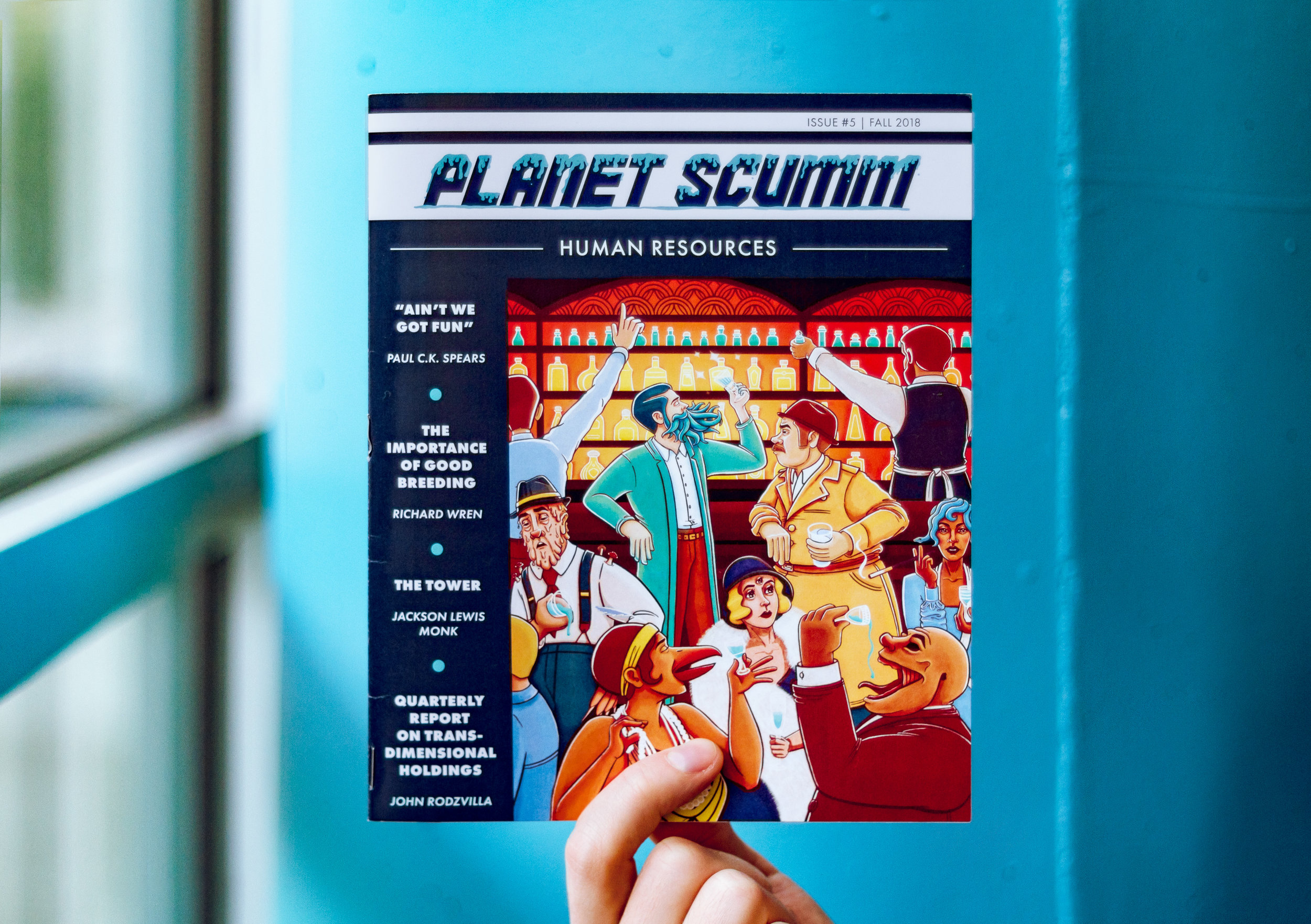 Spark and Fizz Planet Scumm Issue 5