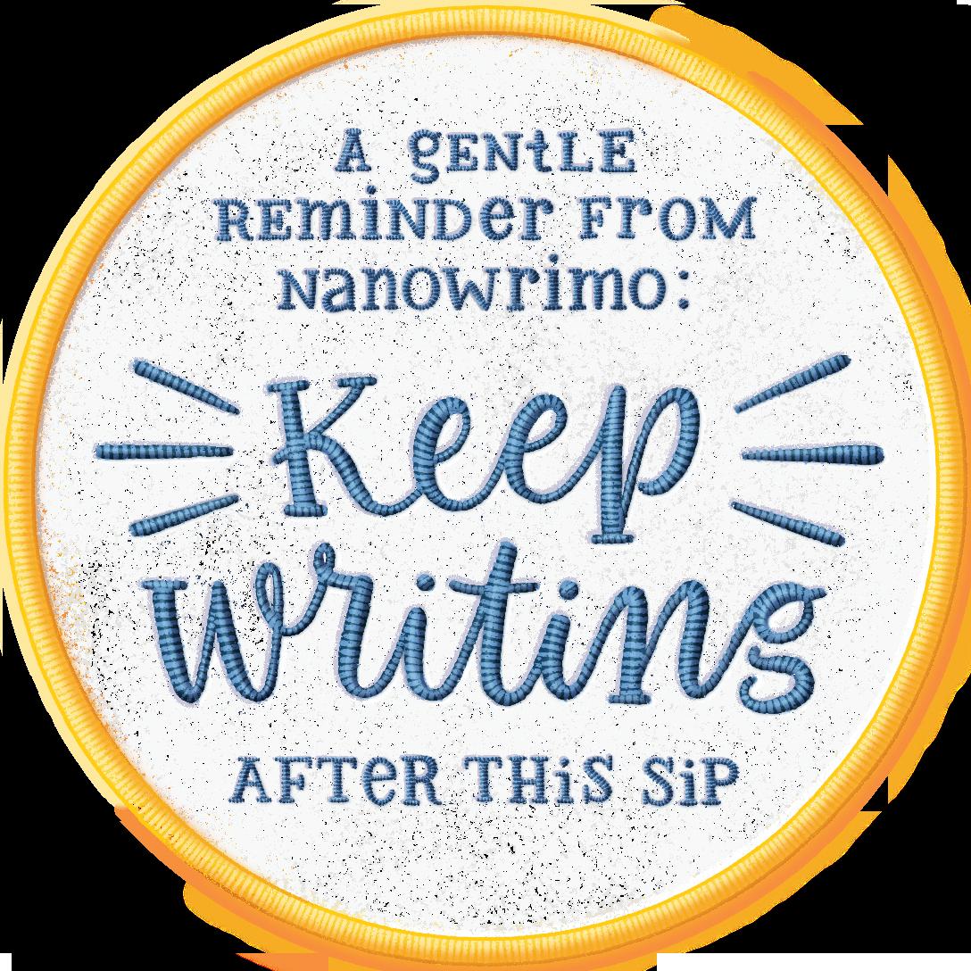 Camp-Nano-Coaster_Keep-Writing.png