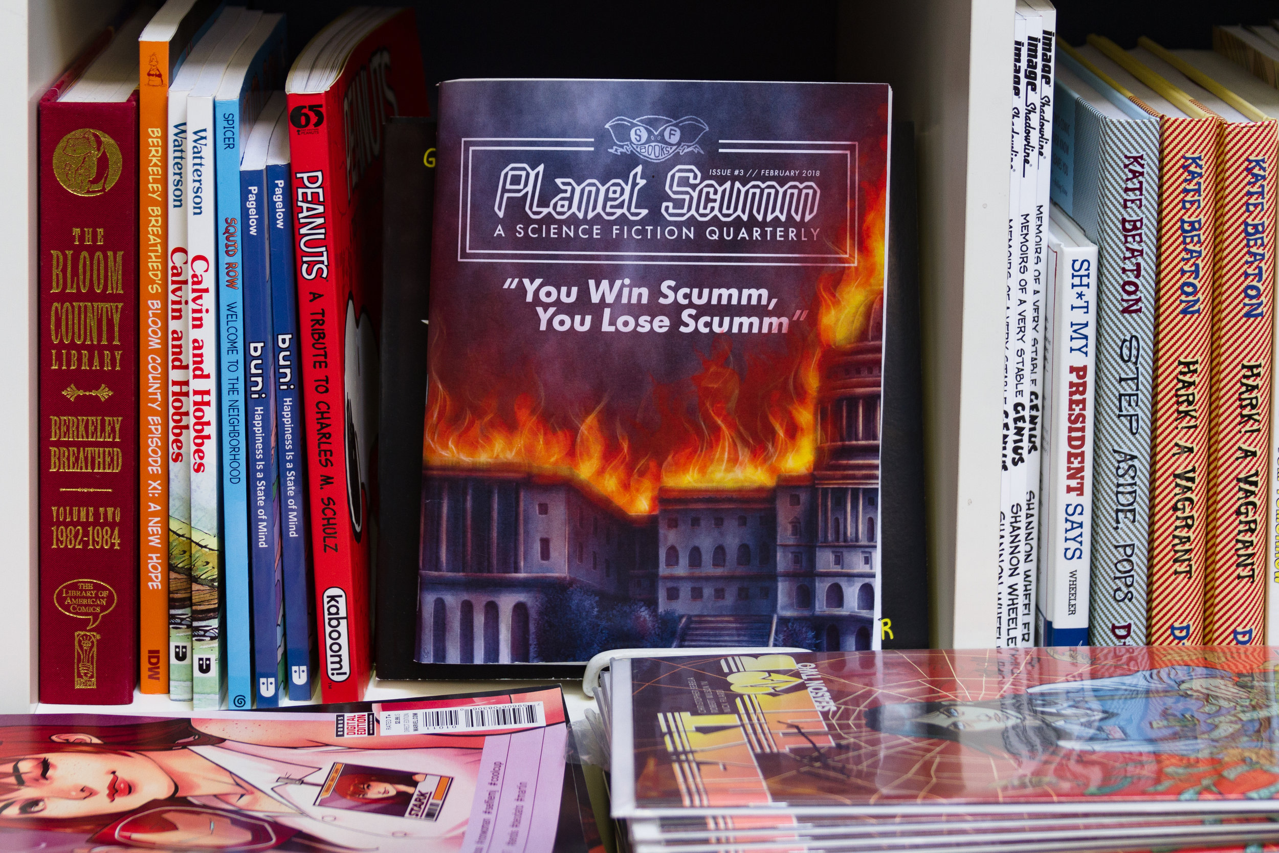 Planet Scumm in Books With Pictures, Portland.