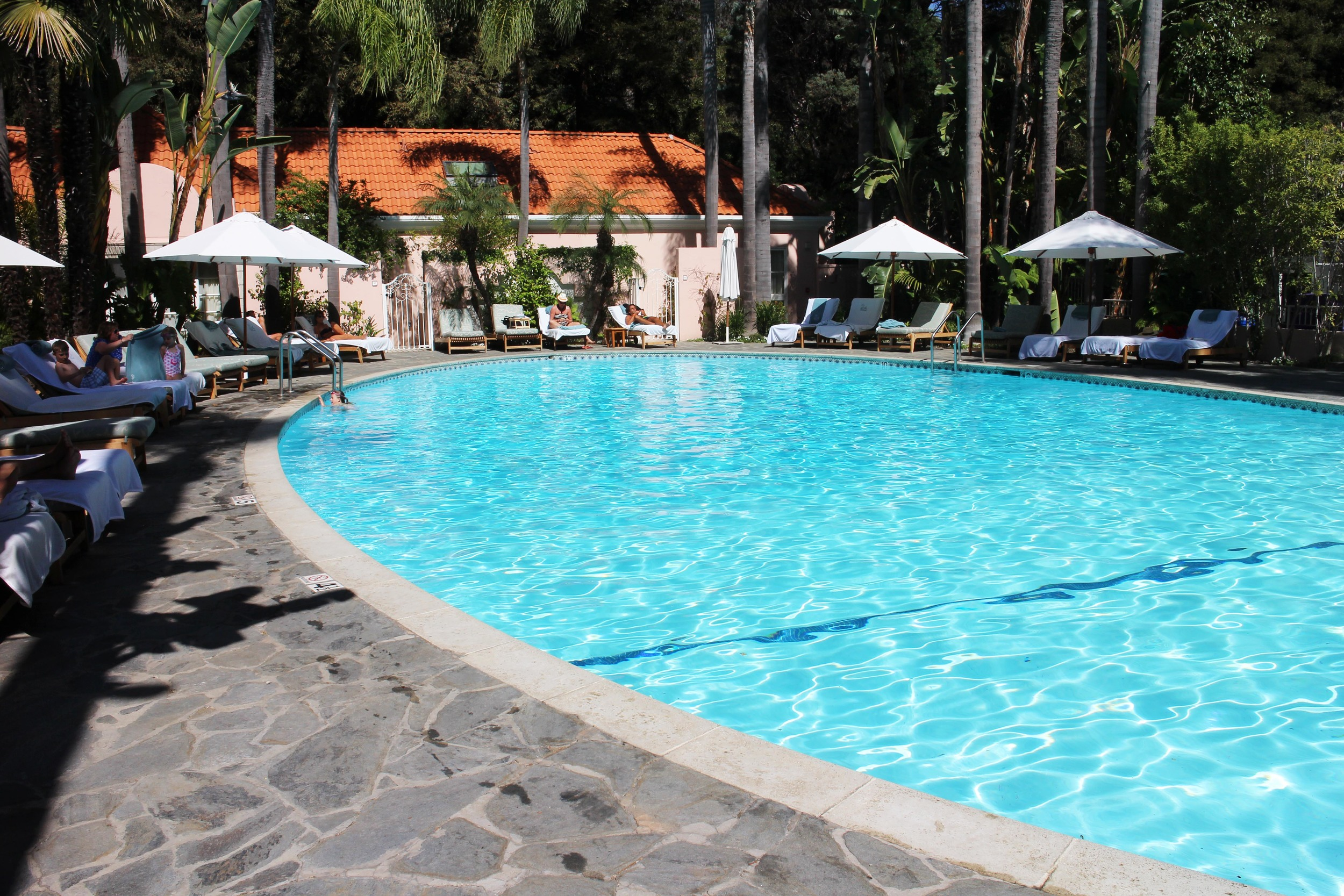 Iconic Bel Air Hotel Swimming Pool