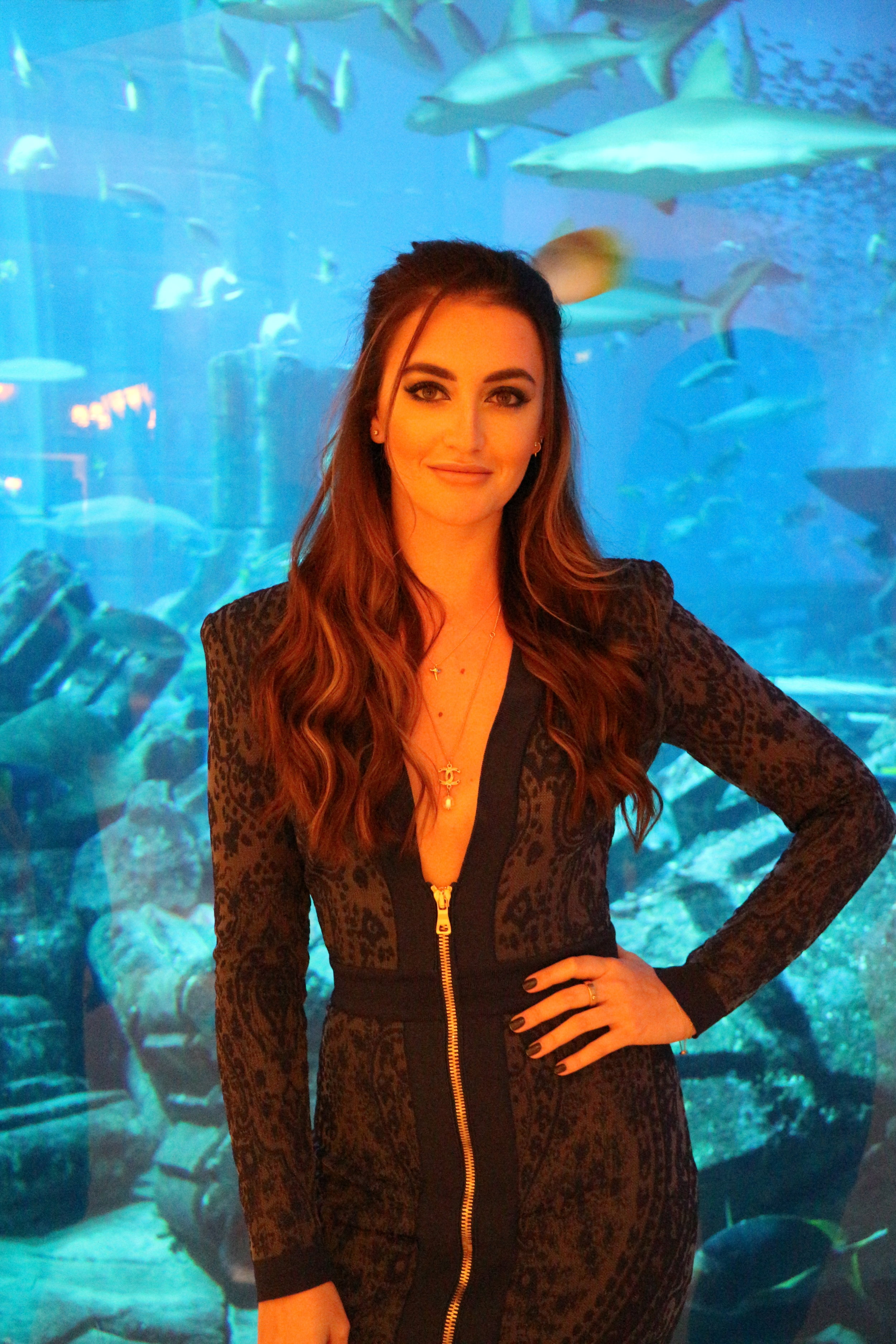 Just loving my Balmain dress at the Atlantis...