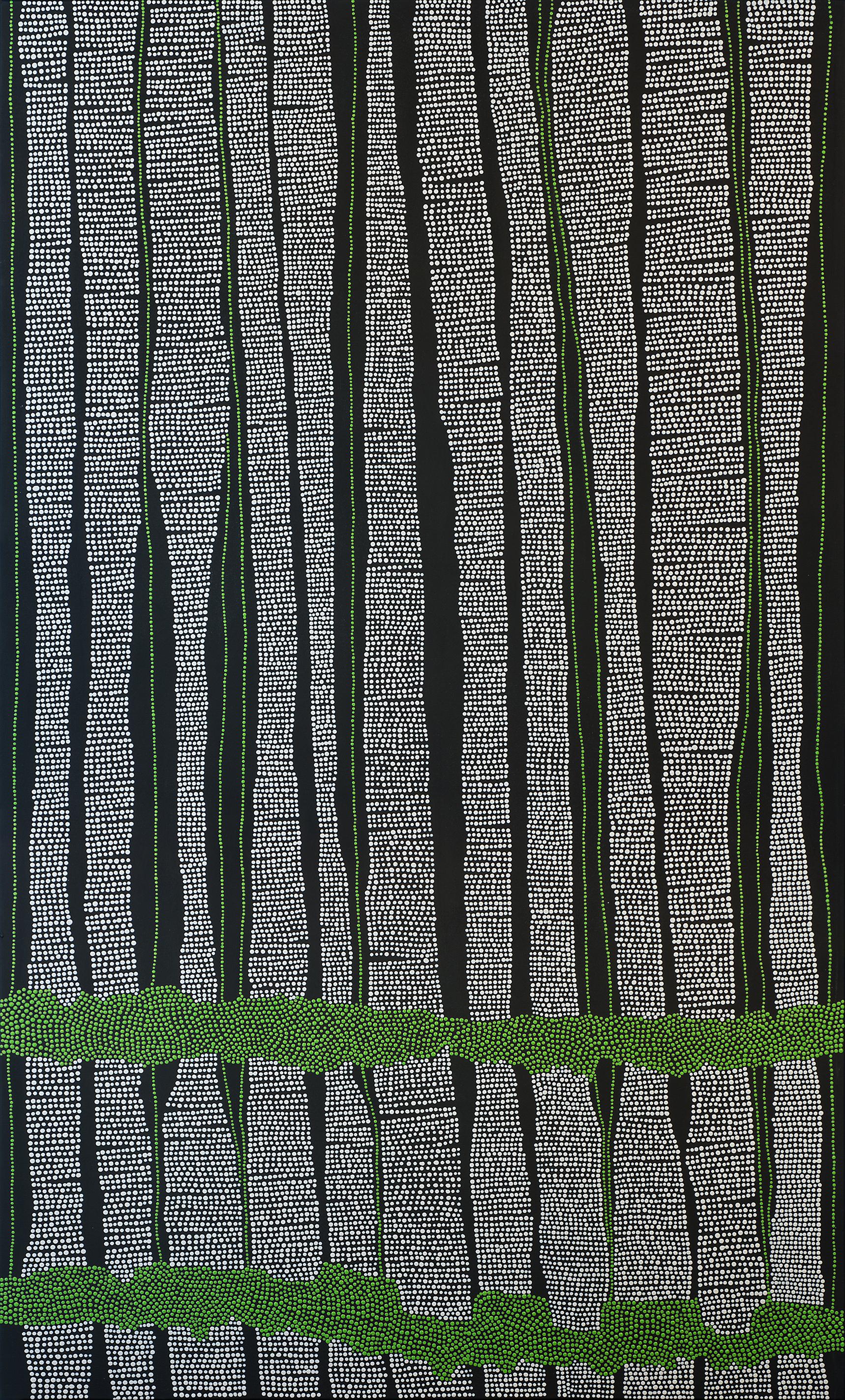 """Garden Aisles // 60"""" x 36"""" // 2015"""
