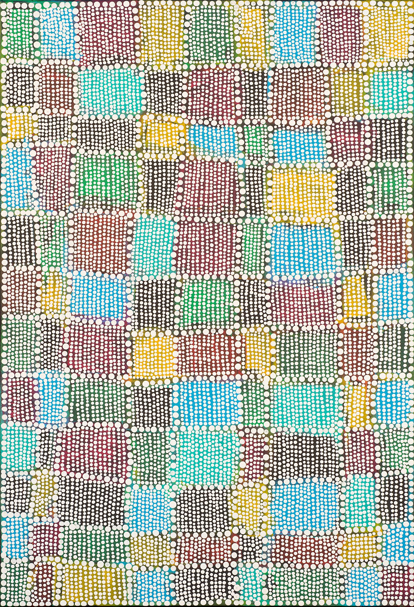 """G.G.'s Quilt // 24"""" x 36"""" // 2014"""