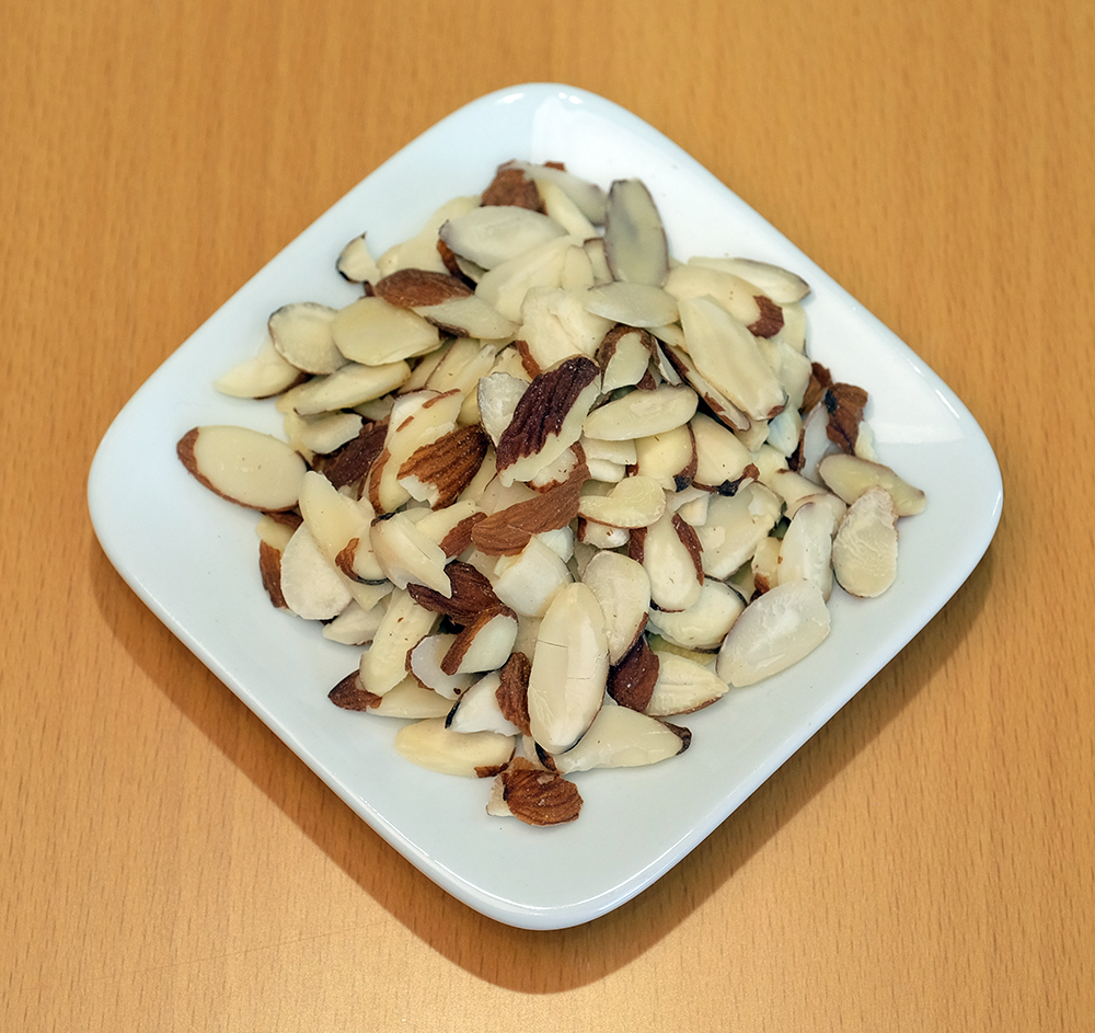 Raw Almond Slices