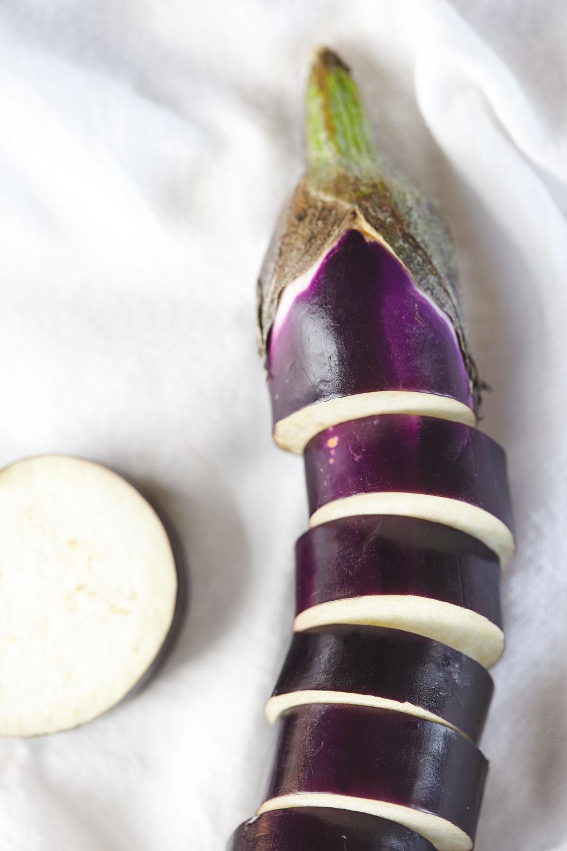Miso Glazed Eggplant Kebabs with Kale Seaweed Salad // Natural Girl Modern World // Vegan & Gluten Free