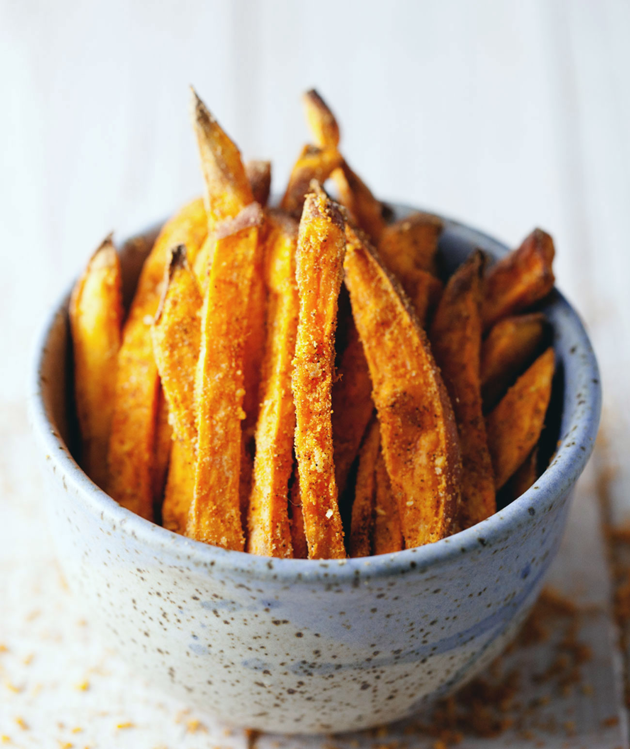 Spiced Sweet Potato Fries // Natural Girl Modern World // Vegan & Gluten Free