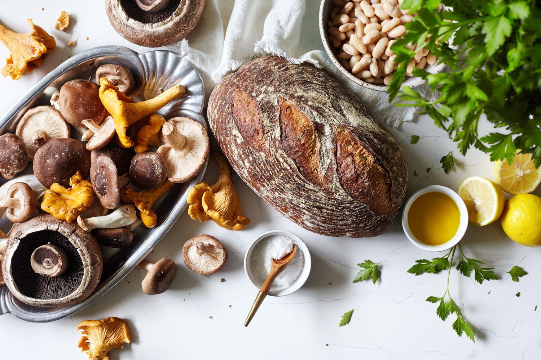 Mushrooms on Toast // Natural Girl Modern World // Vegan & Gluten Free (option)