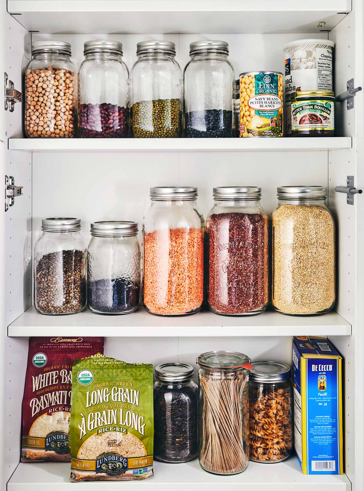 Inside Evergreen Kitchen's Pantry | Grains, Legumes, Beans, Rice, Noodles, Pasta | A Resource Guide