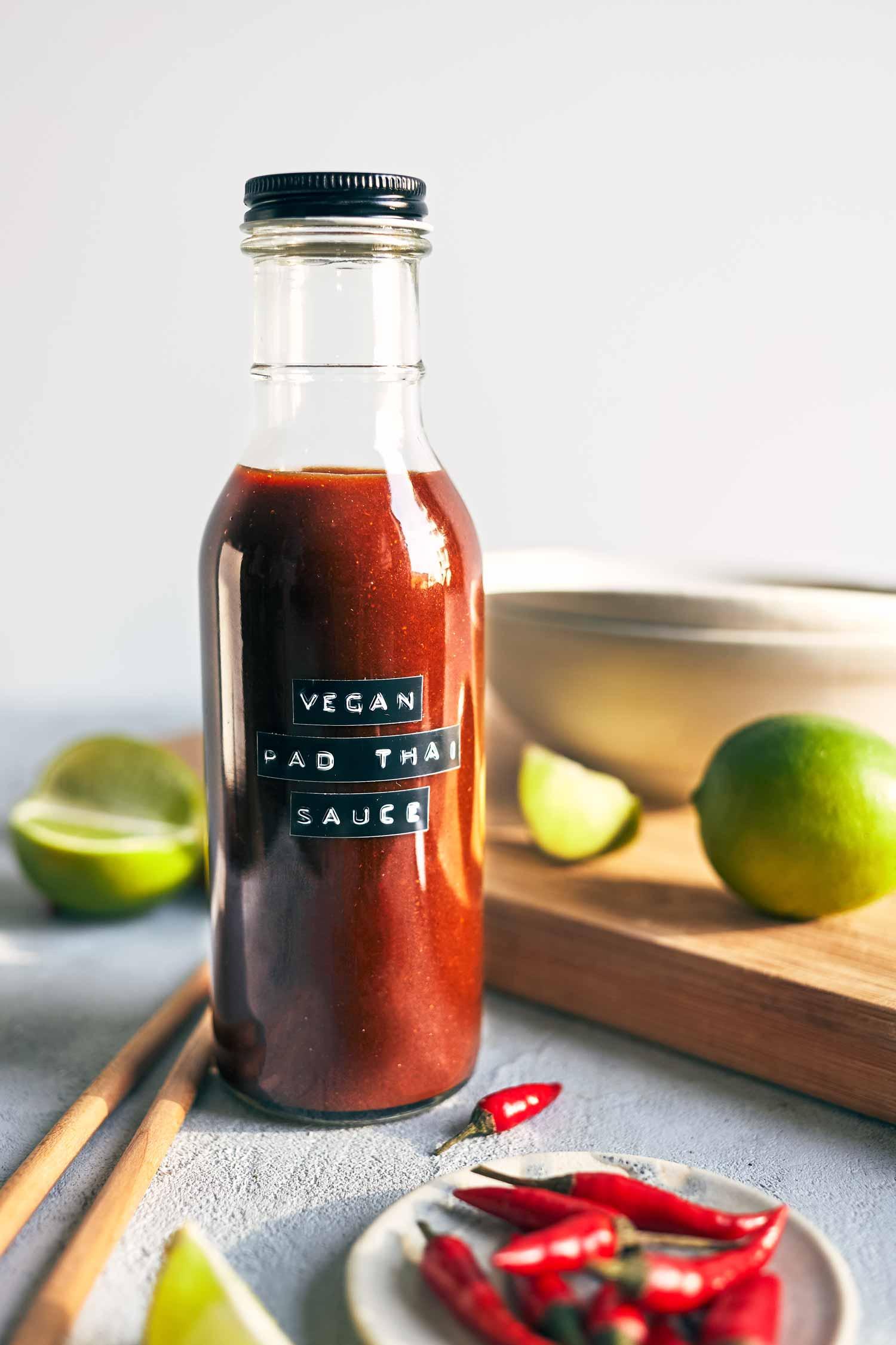 4 Ingredient Vegan Pad Thai Sauce | Evergreen Kitchen | Vegan & Gluten Free