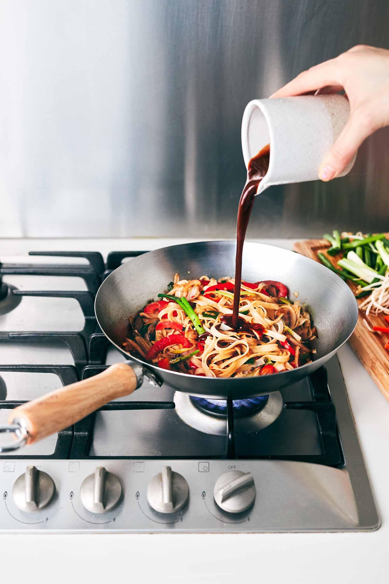 4-Ingredient Vegan Pad Thai Sauce | Evergreen Kitchen | Vegan & Gluten Free