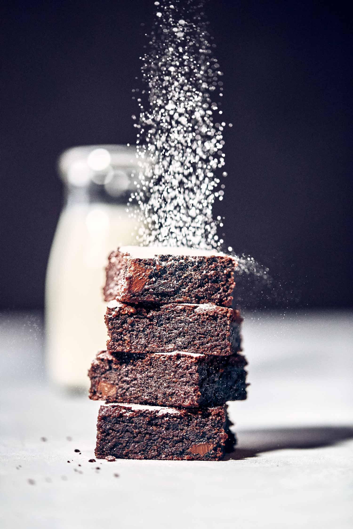 Easy Gluten Free Fudge Brownies | Evergreen Kitchen | Vegan & Gluten Free