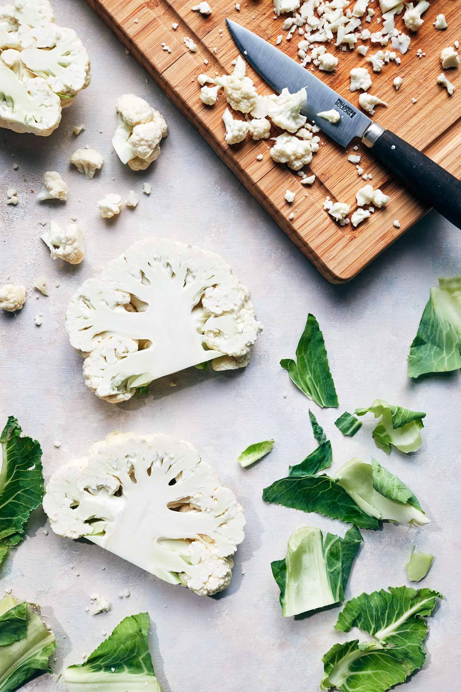 Harissa Spiced Cauliflower Steaks | Evergreen Kitchen | Vegan & Gluten Free