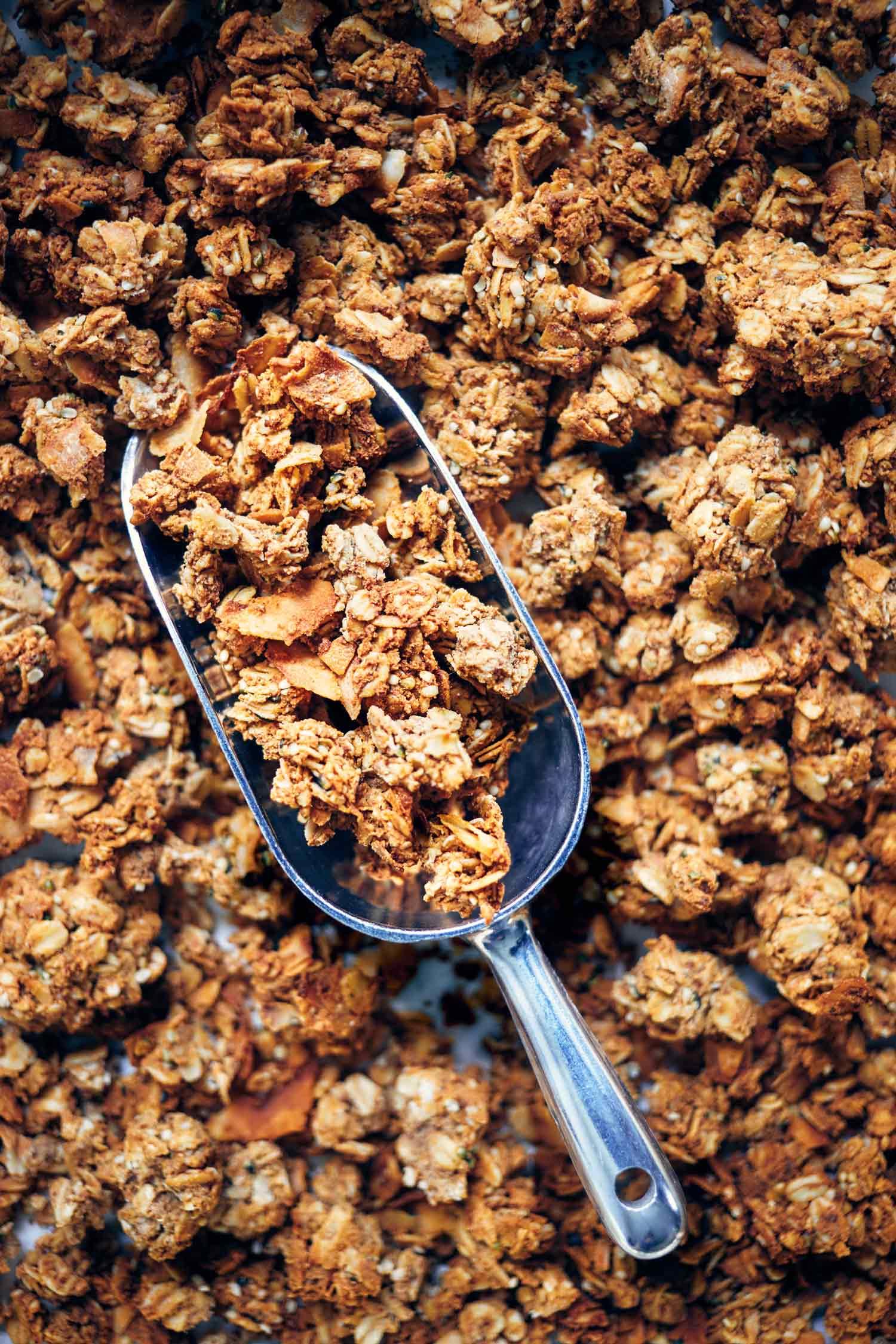 Easy Nut Pulp Granola | Evergreen Kitchen | Vegan & Gluten Free