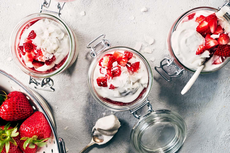 Vegan Strawberry Shortcake Trifle | Evergreen Kitchen | Vegan & Gluten Free
