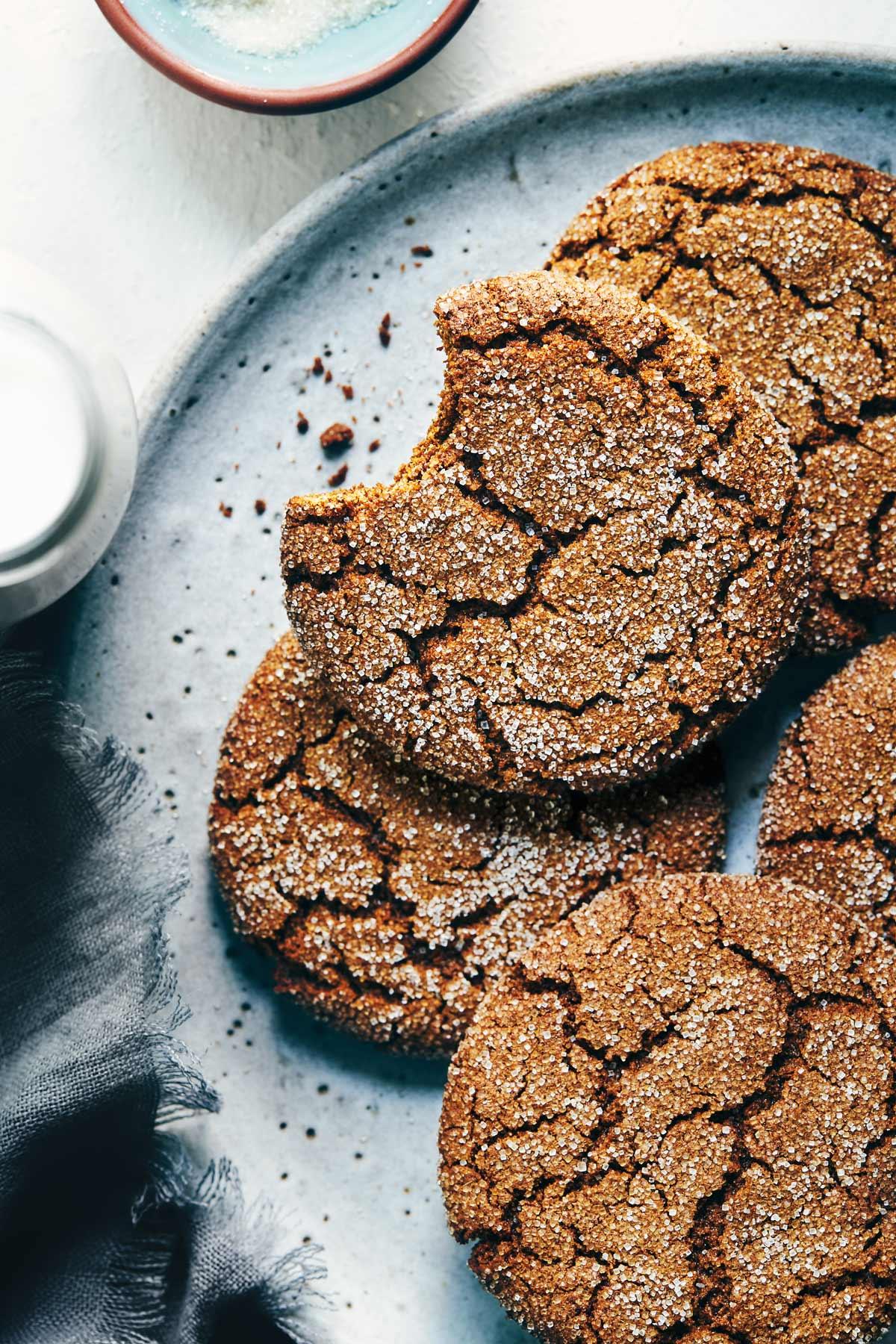 Ginger Molasses Cookies - Natural Girl Modern World - 1.jpg