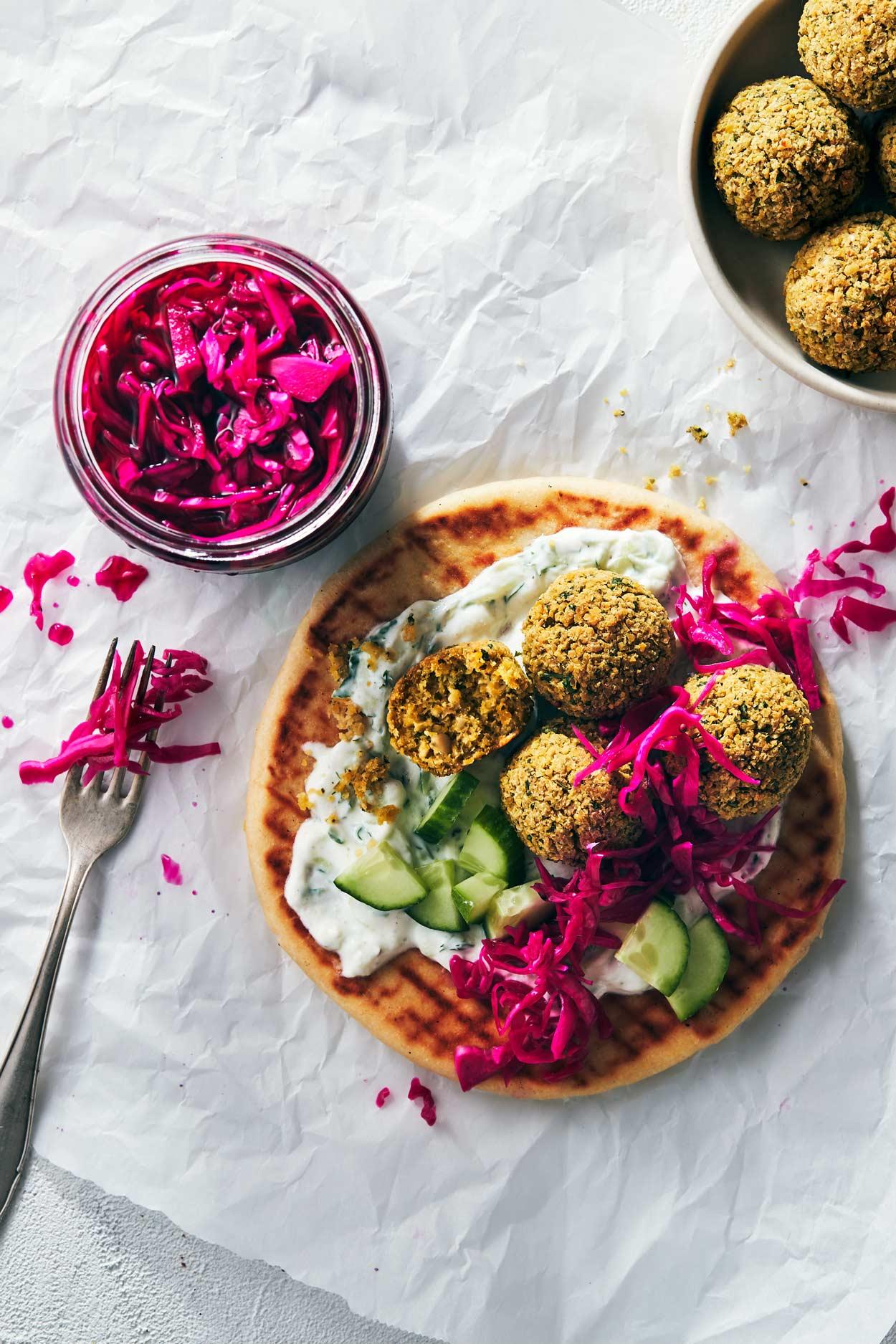 Oven Baked Falafel   Evergreen Kitchen   Vegan & Gluten Free